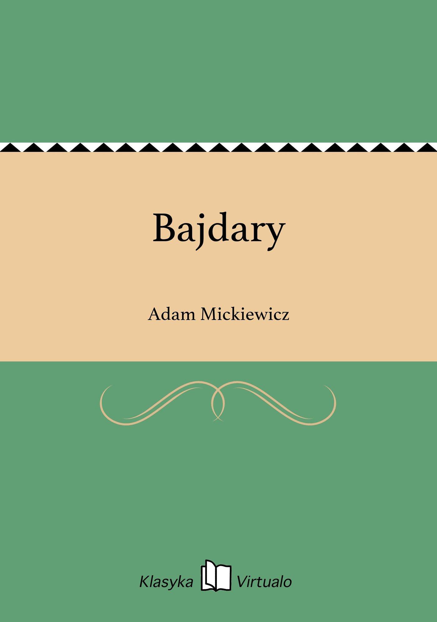 Bajdary - Ebook (Książka EPUB) do pobrania w formacie EPUB