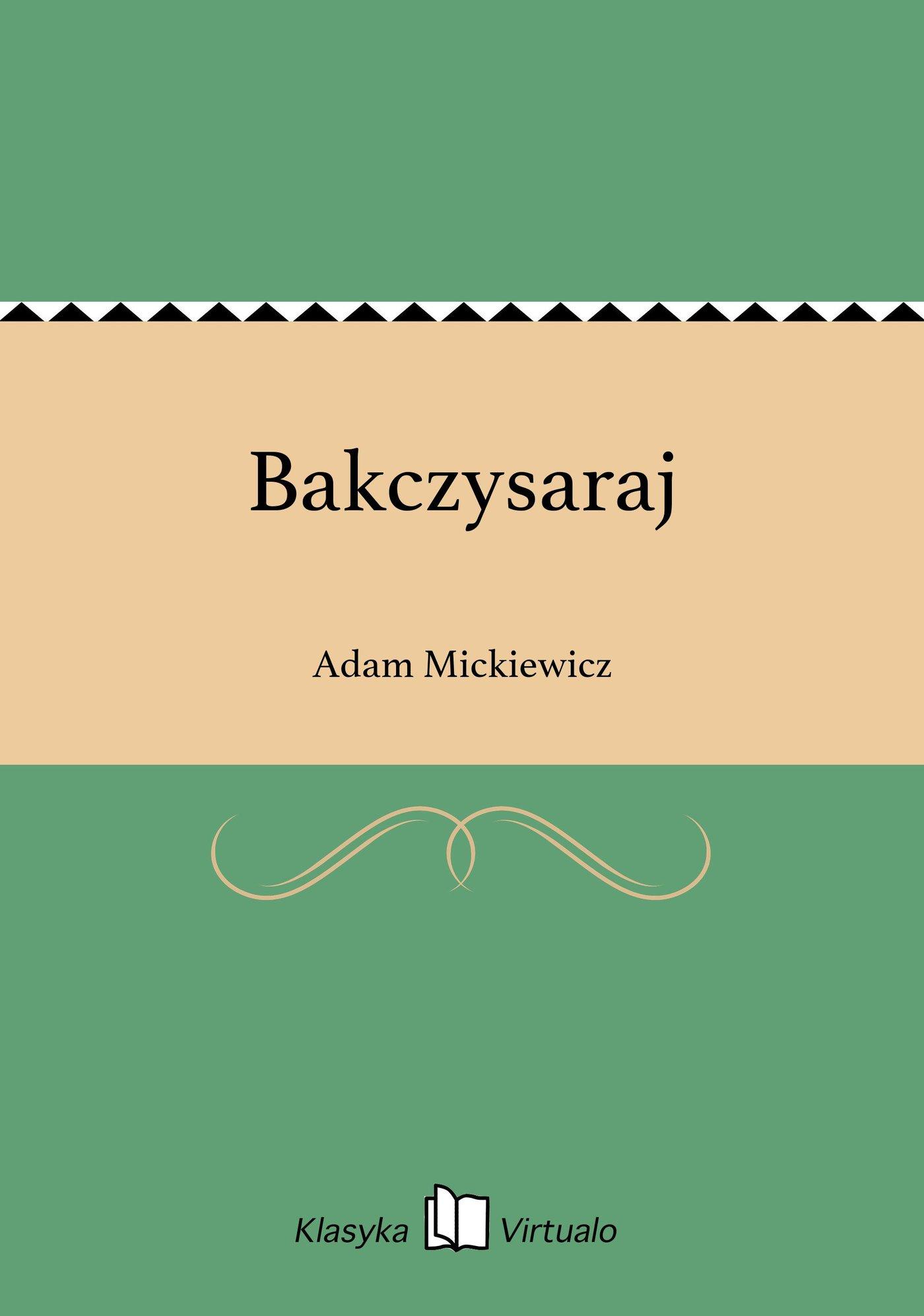 Bakczysaraj - Ebook (Książka EPUB) do pobrania w formacie EPUB