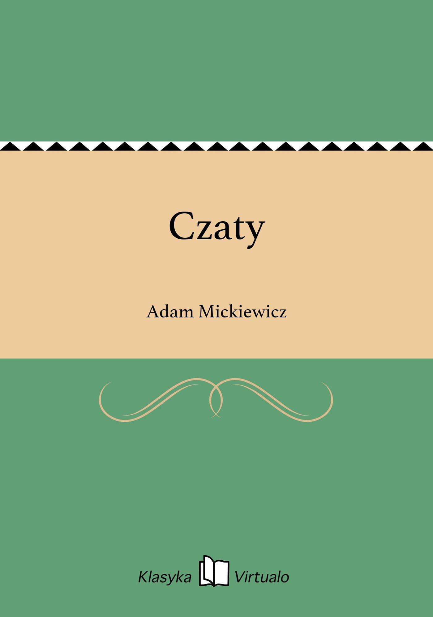 Czaty - Ebook (Książka EPUB) do pobrania w formacie EPUB