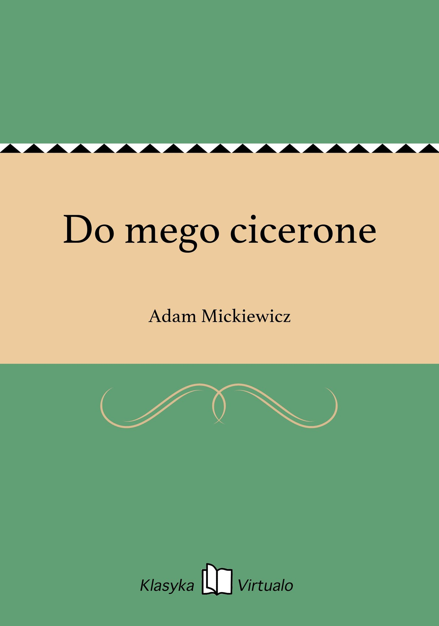 Do mego cicerone - Ebook (Książka EPUB) do pobrania w formacie EPUB