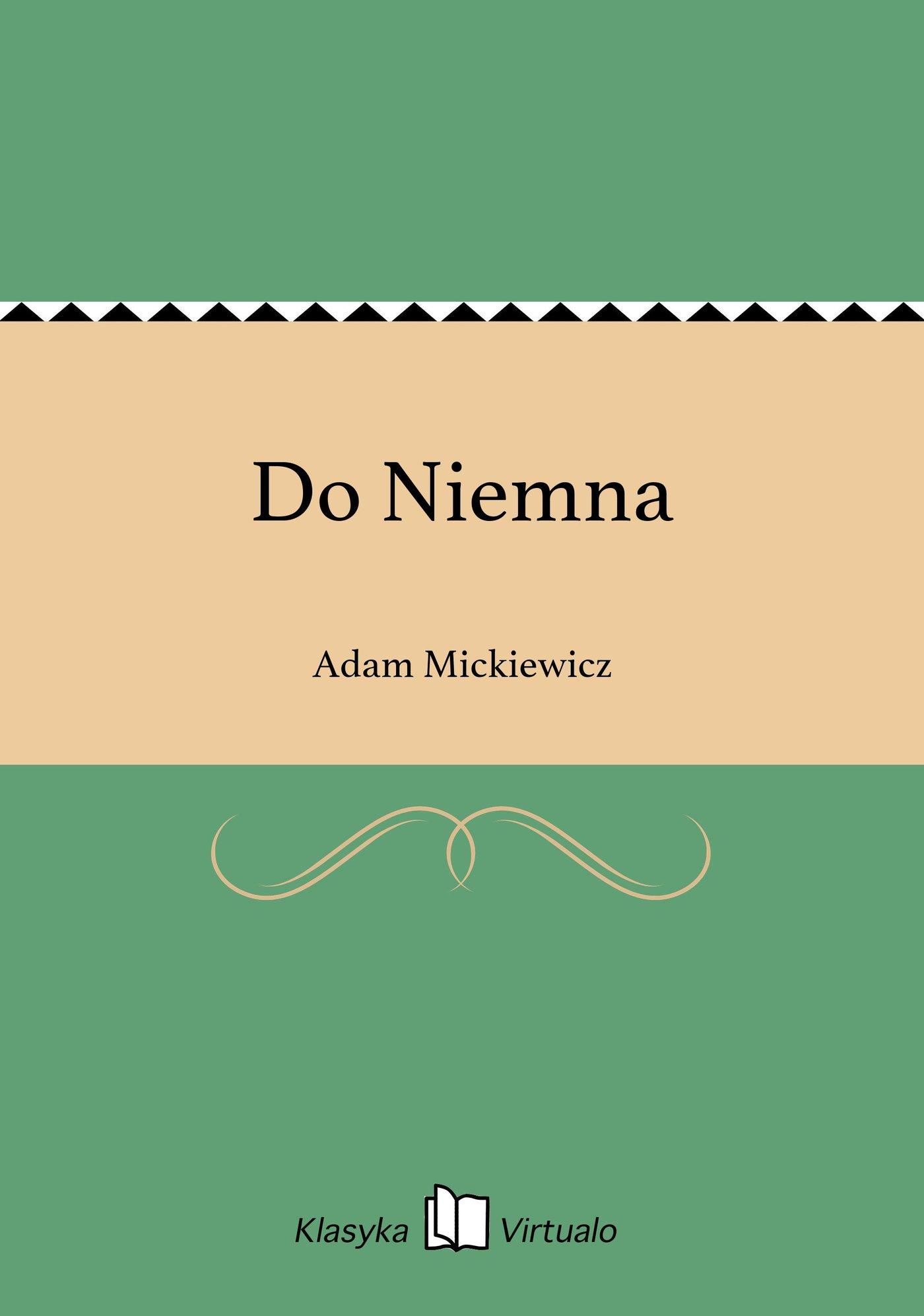 Do Niemna - Ebook (Książka EPUB) do pobrania w formacie EPUB