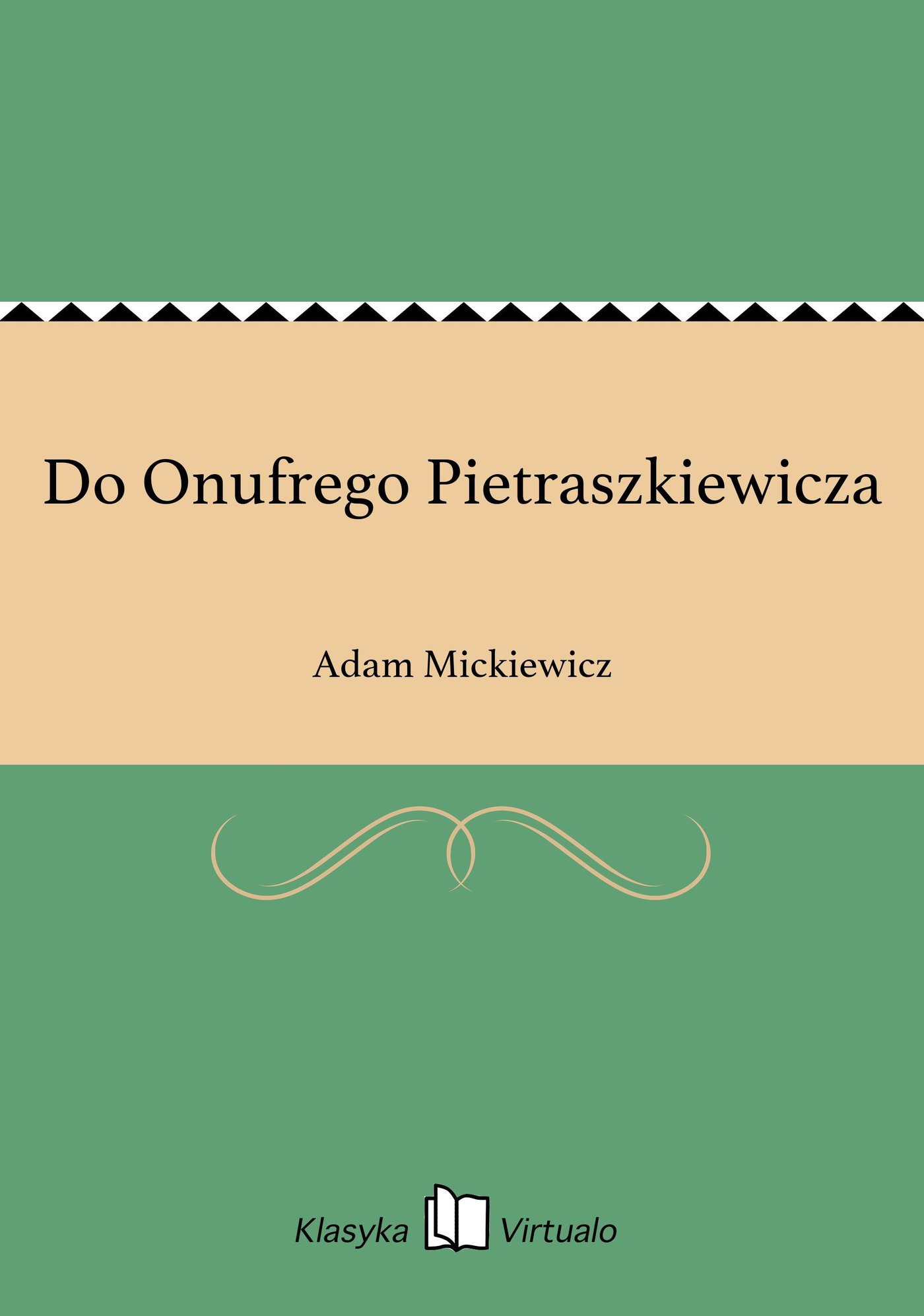 Do Onufrego Pietraszkiewicza - Ebook (Książka EPUB) do pobrania w formacie EPUB