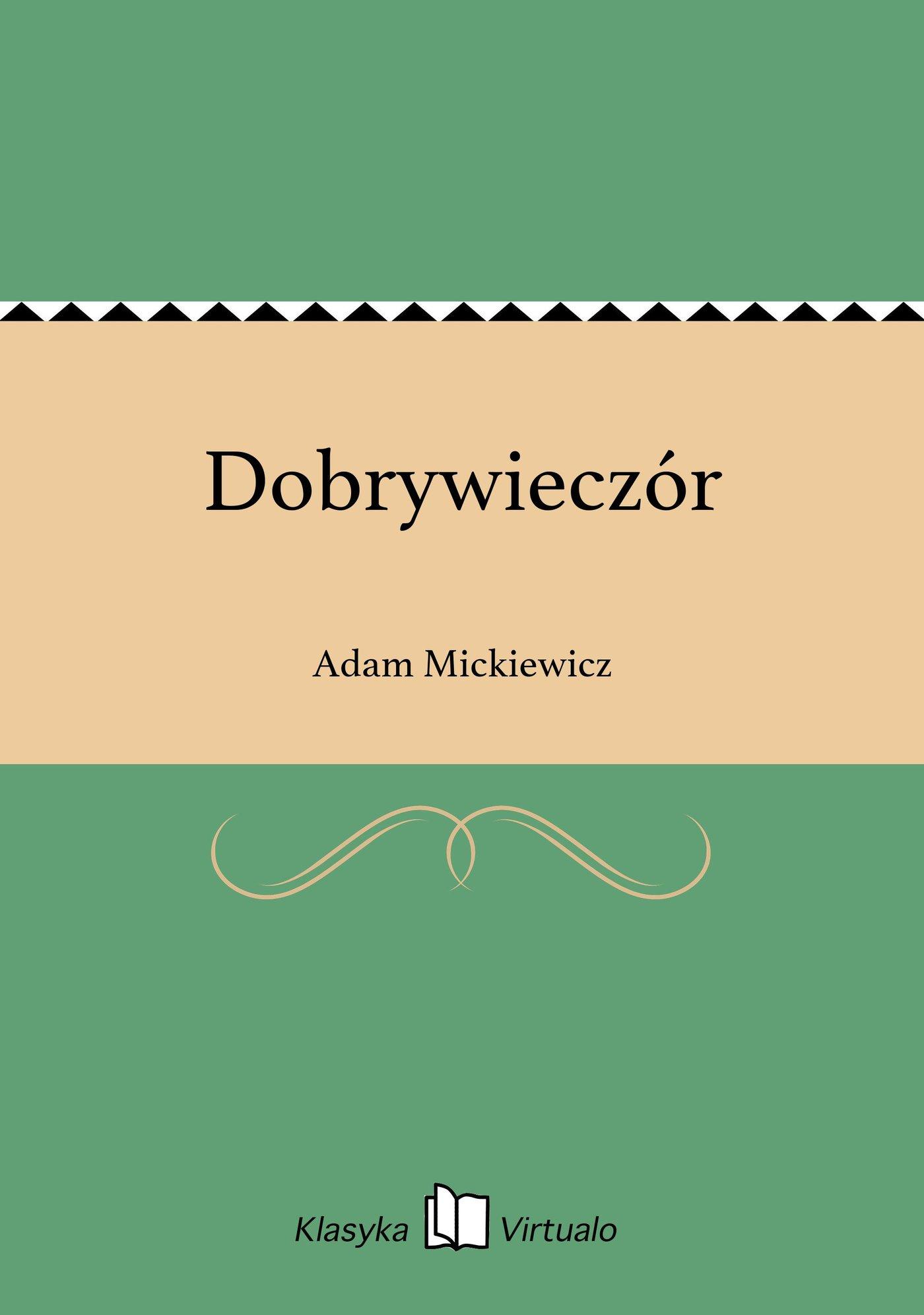 Dobrywieczór - Ebook (Książka EPUB) do pobrania w formacie EPUB