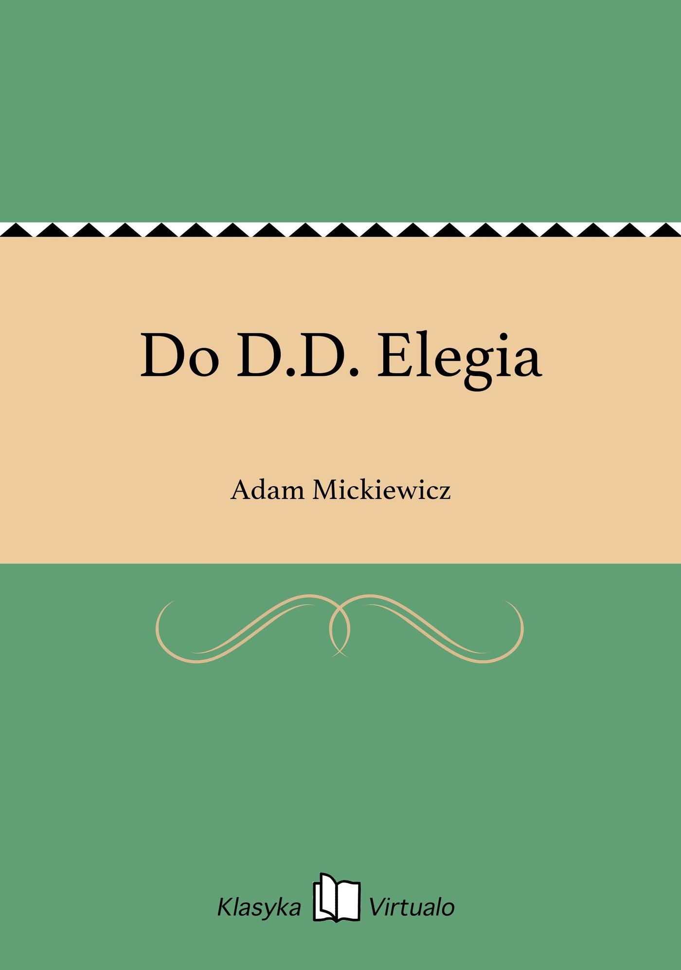 Do D.D. Elegia - Ebook (Książka EPUB) do pobrania w formacie EPUB