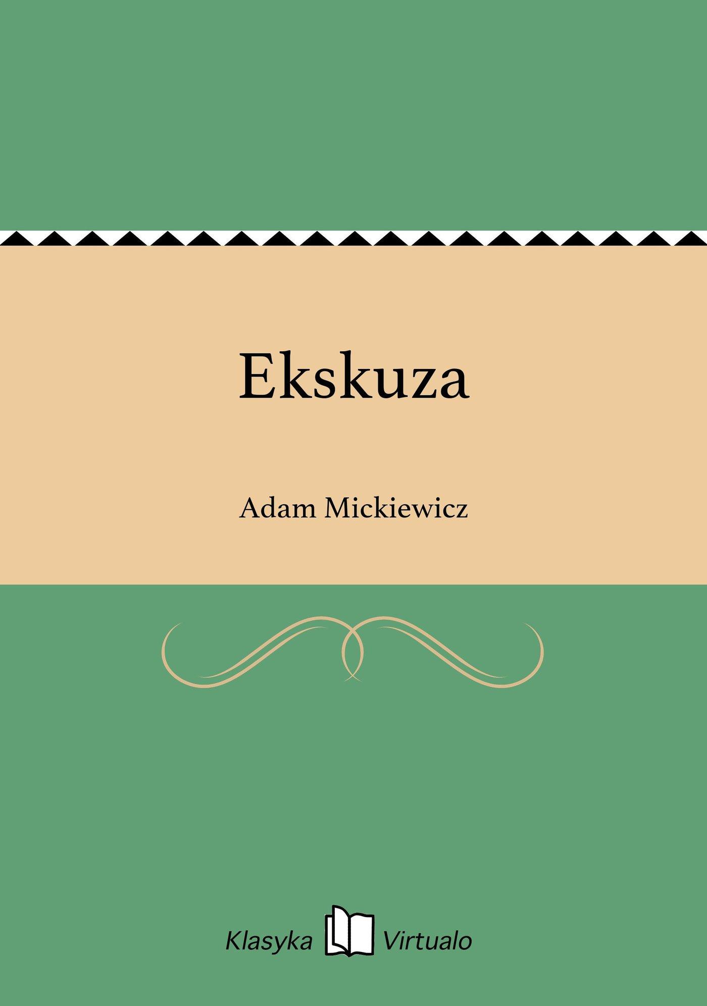 Ekskuza - Ebook (Książka EPUB) do pobrania w formacie EPUB