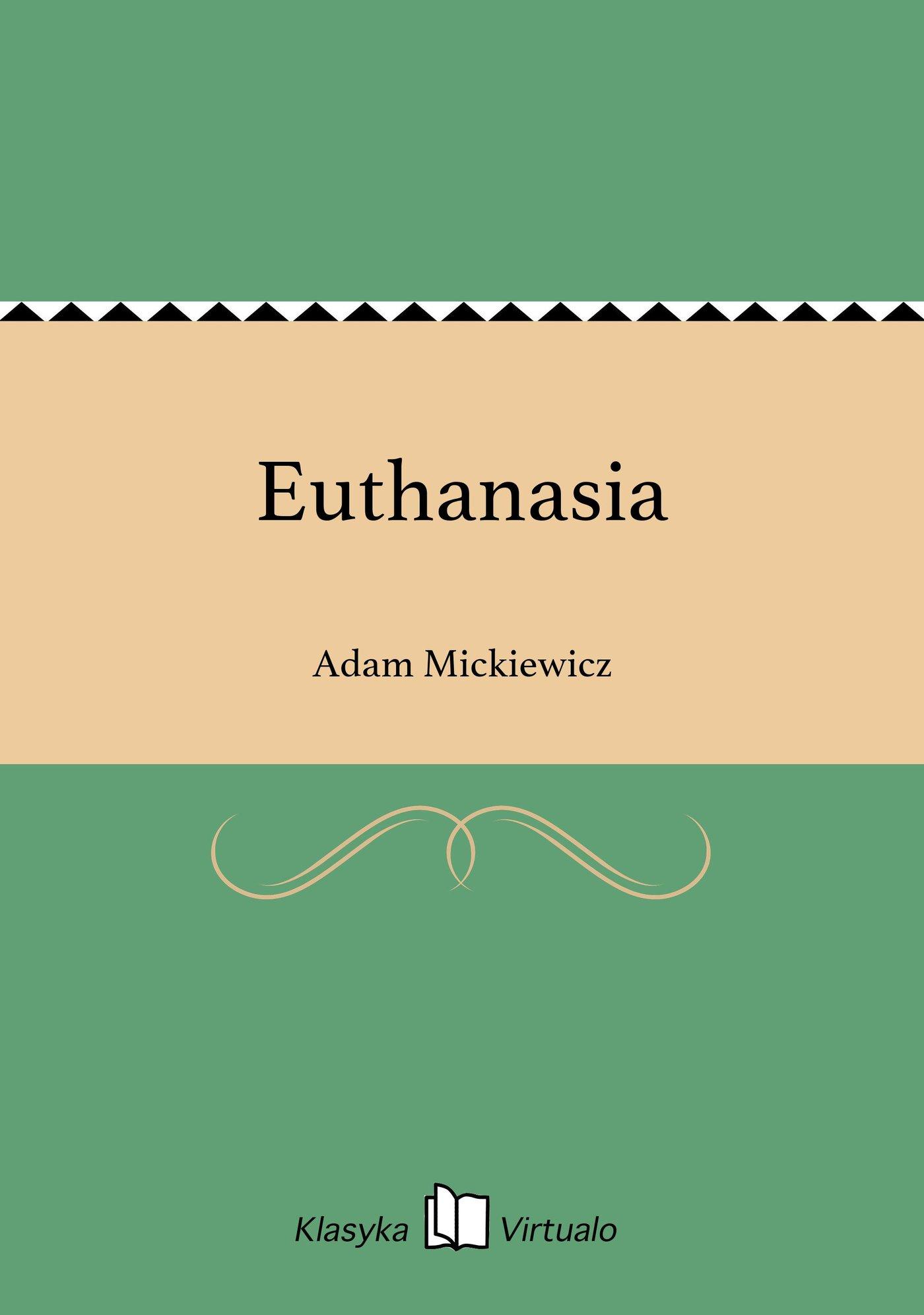 Euthanasia - Ebook (Książka EPUB) do pobrania w formacie EPUB