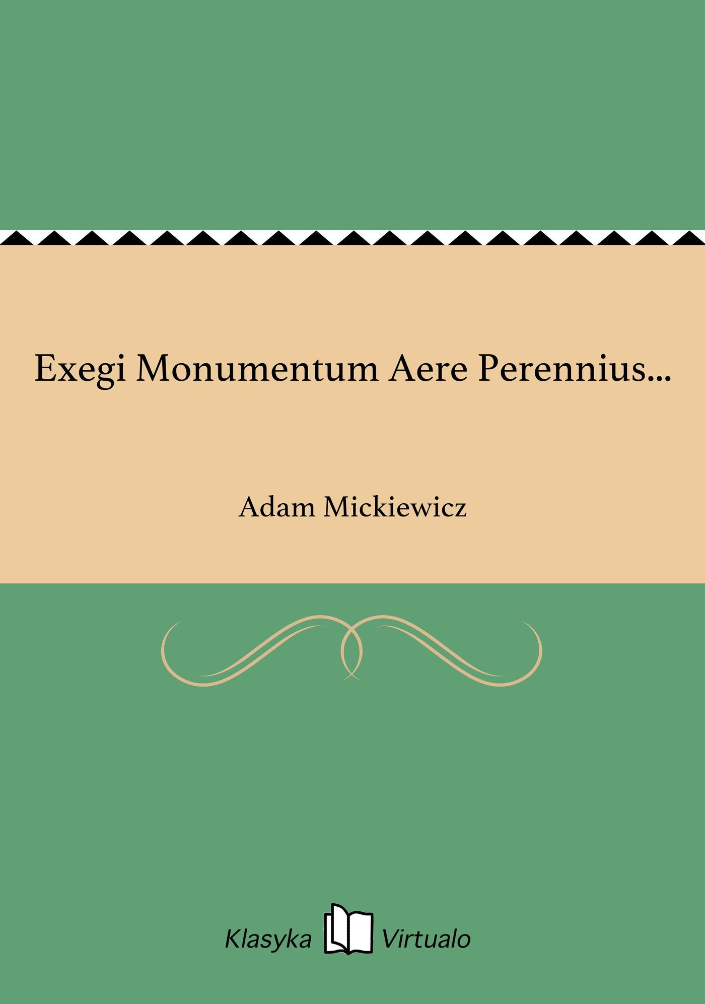 Exegi Monumentum Aere Perennius... - Ebook (Książka EPUB) do pobrania w formacie EPUB