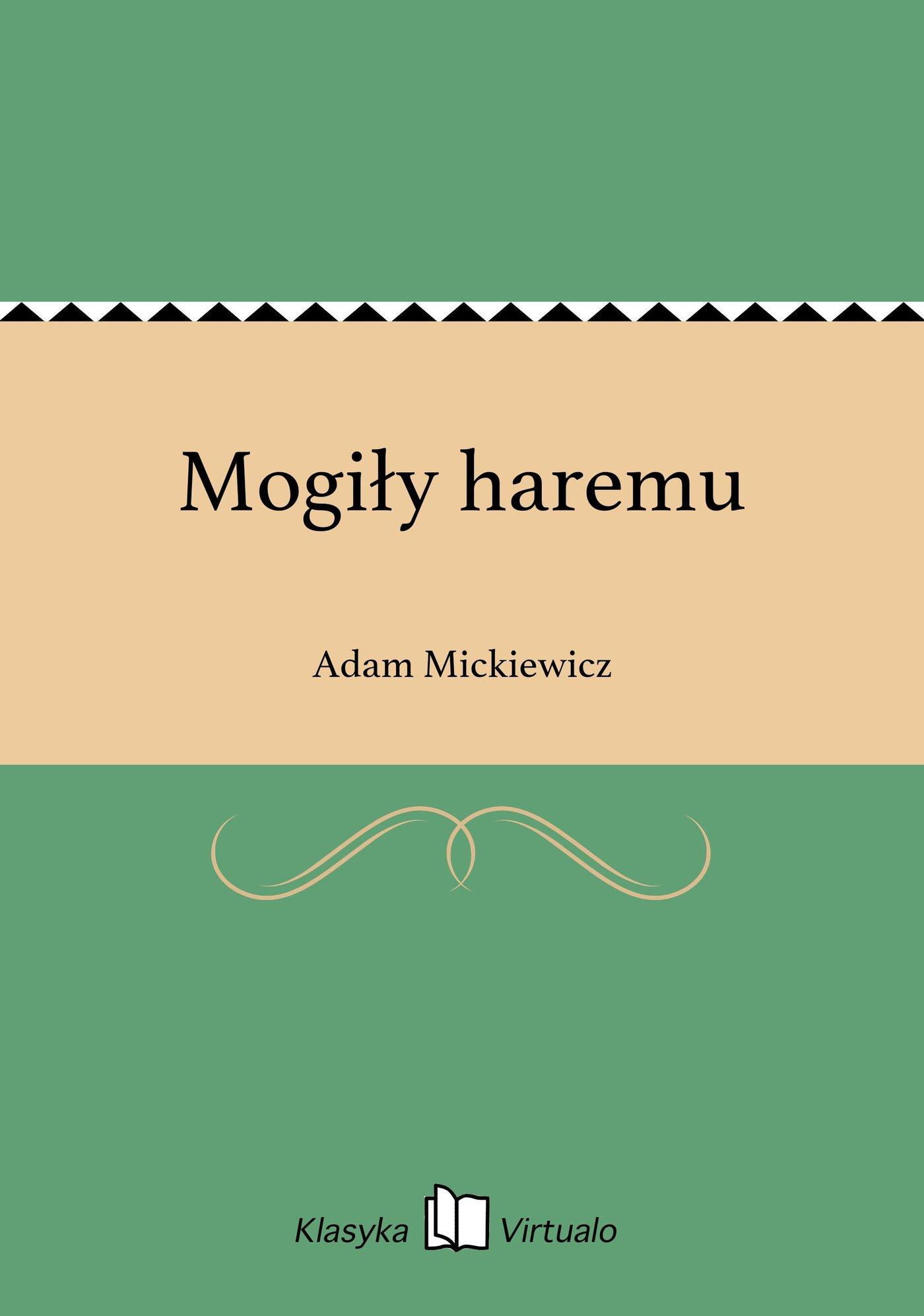 Mogiły haremu - Ebook (Książka EPUB) do pobrania w formacie EPUB