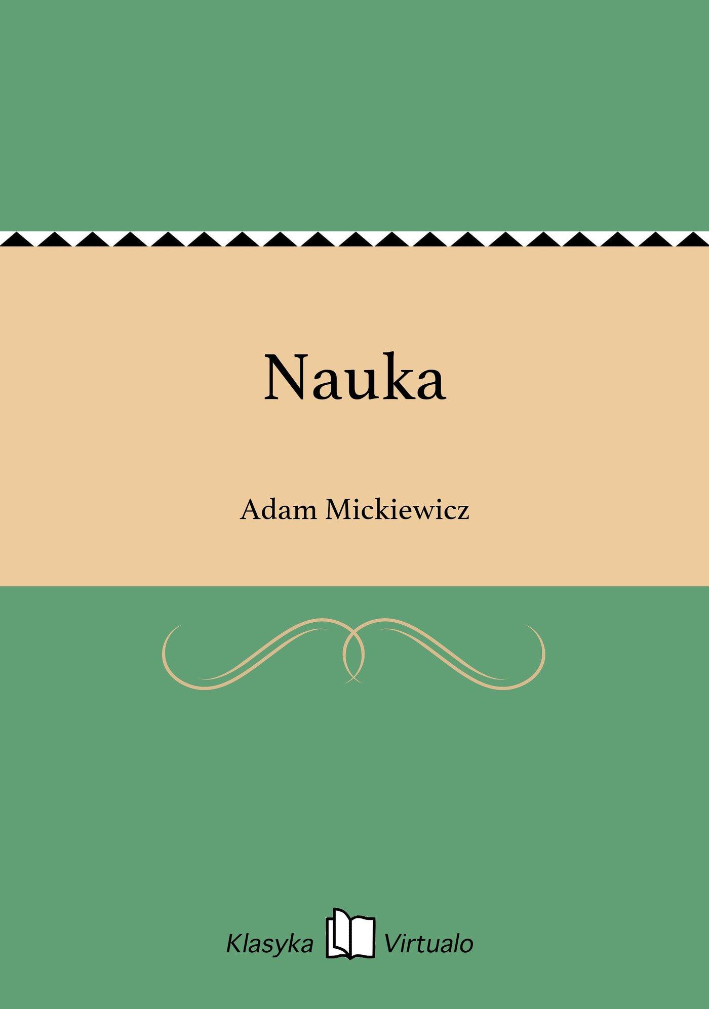 Nauka - Ebook (Książka EPUB) do pobrania w formacie EPUB