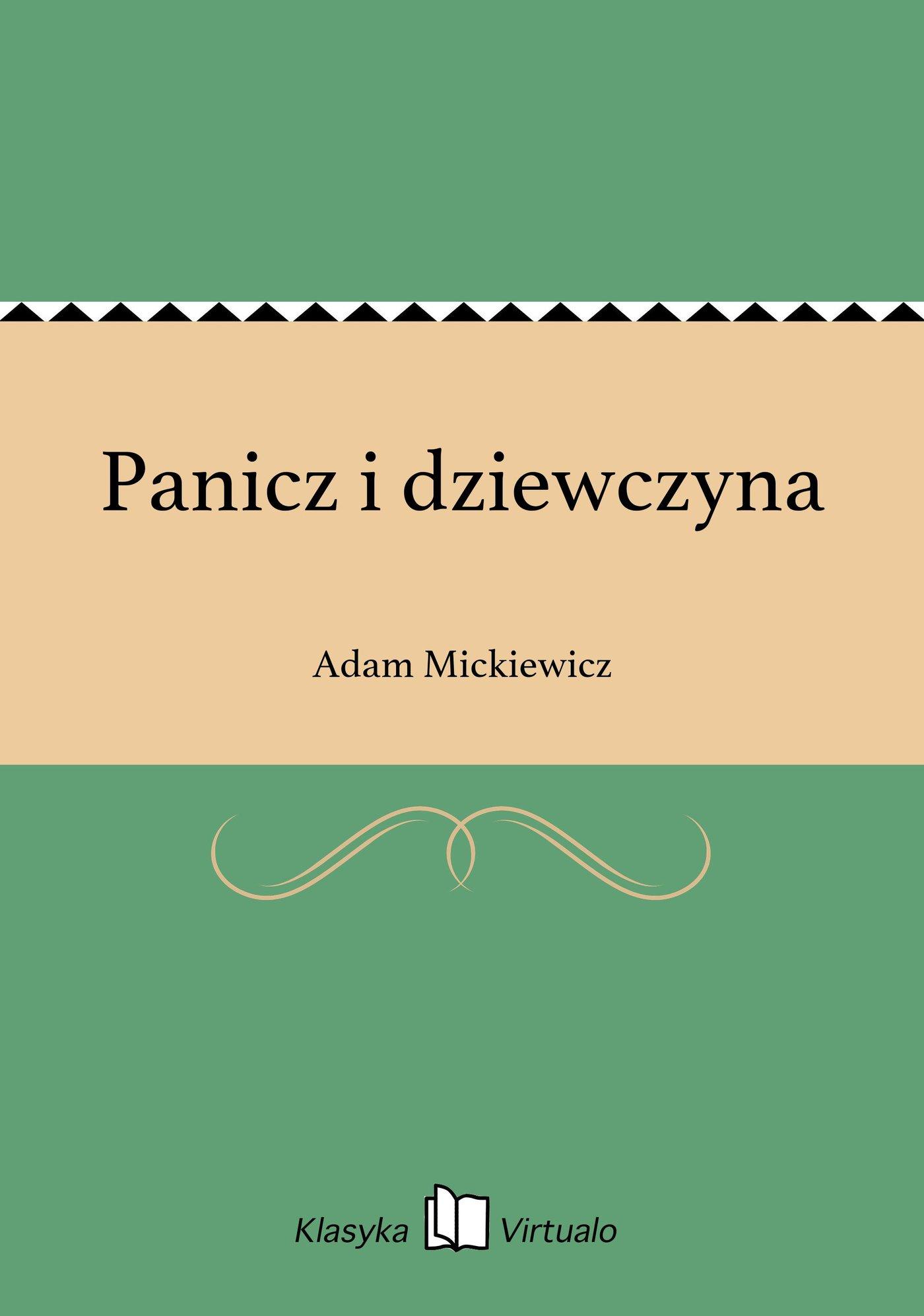 Panicz i dziewczyna - Ebook (Książka EPUB) do pobrania w formacie EPUB