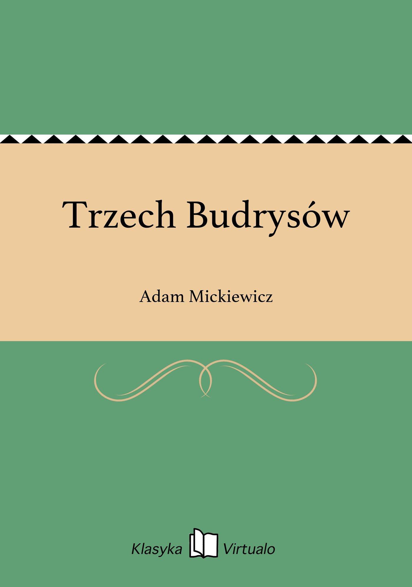 Trzech Budrysów - Ebook (Książka EPUB) do pobrania w formacie EPUB