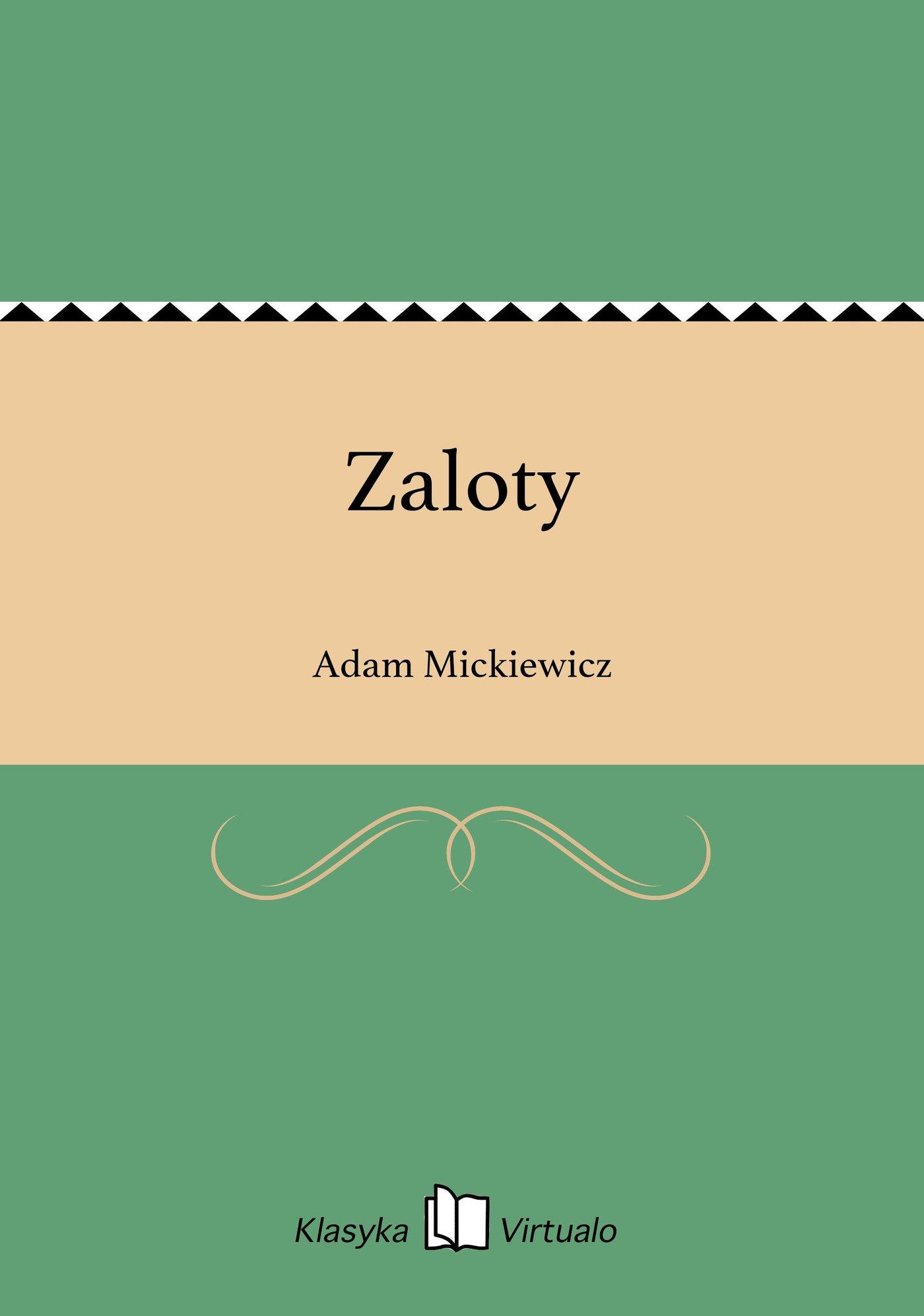 Zaloty - Ebook (Książka EPUB) do pobrania w formacie EPUB