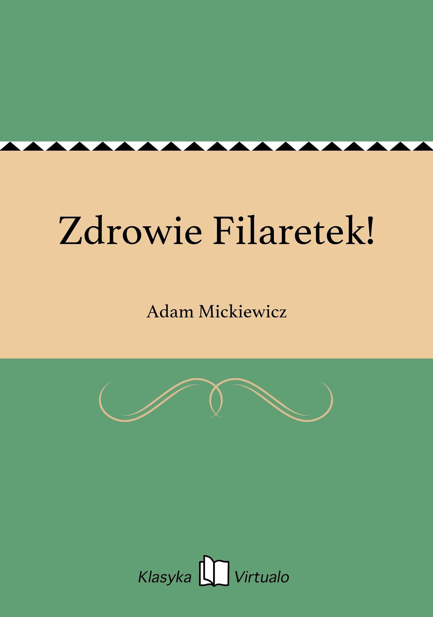 Zdrowie Filaretek! - Ebook (Książka EPUB) do pobrania w formacie EPUB