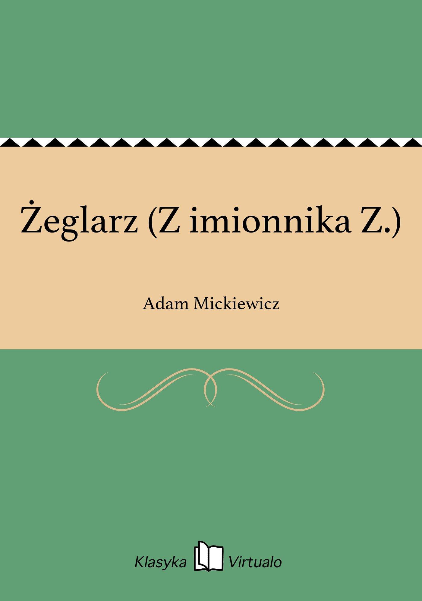 Żeglarz (Z imionnika Z.) - Ebook (Książka EPUB) do pobrania w formacie EPUB