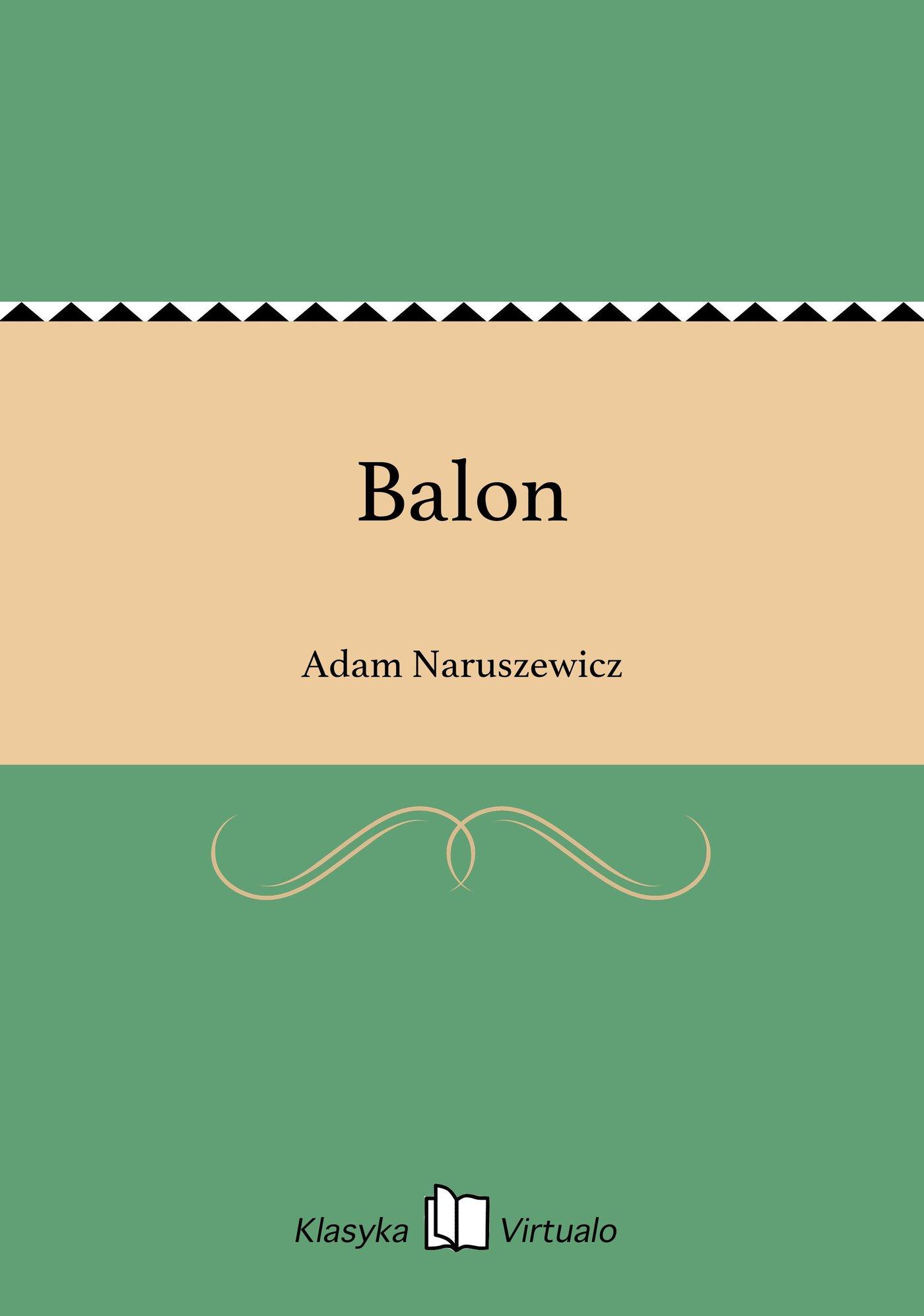 Balon - Ebook (Książka EPUB) do pobrania w formacie EPUB