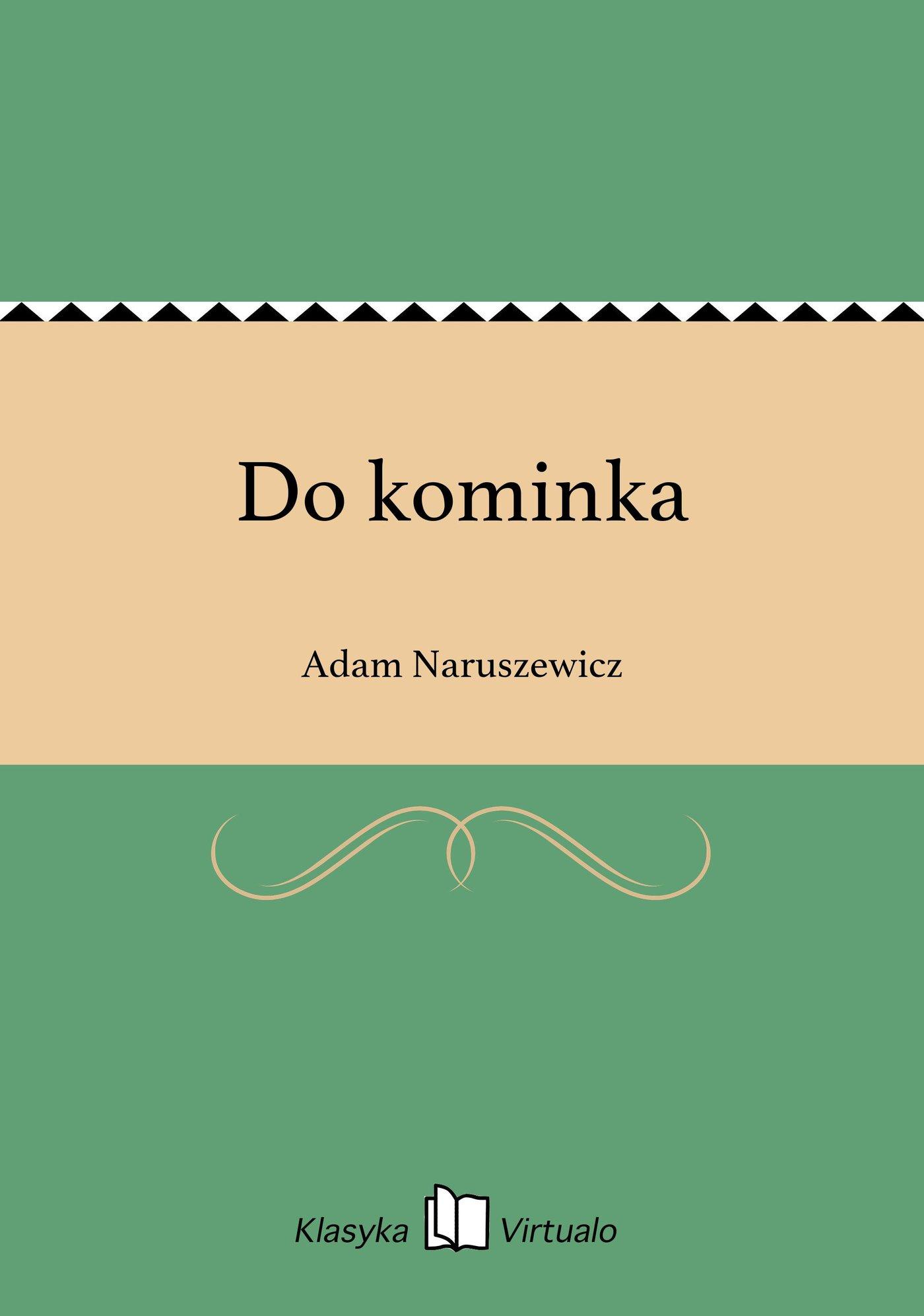 Do kominka - Ebook (Książka EPUB) do pobrania w formacie EPUB