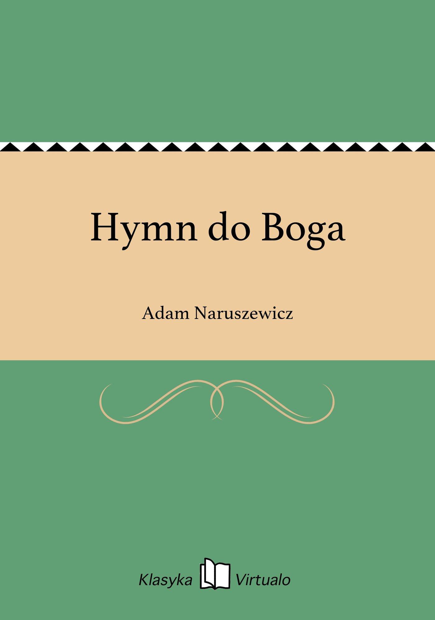 Hymn do Boga - Ebook (Książka EPUB) do pobrania w formacie EPUB