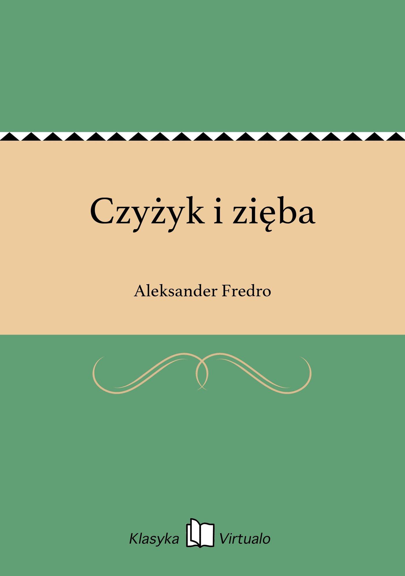 Czyżyk i zięba - Ebook (Książka EPUB) do pobrania w formacie EPUB