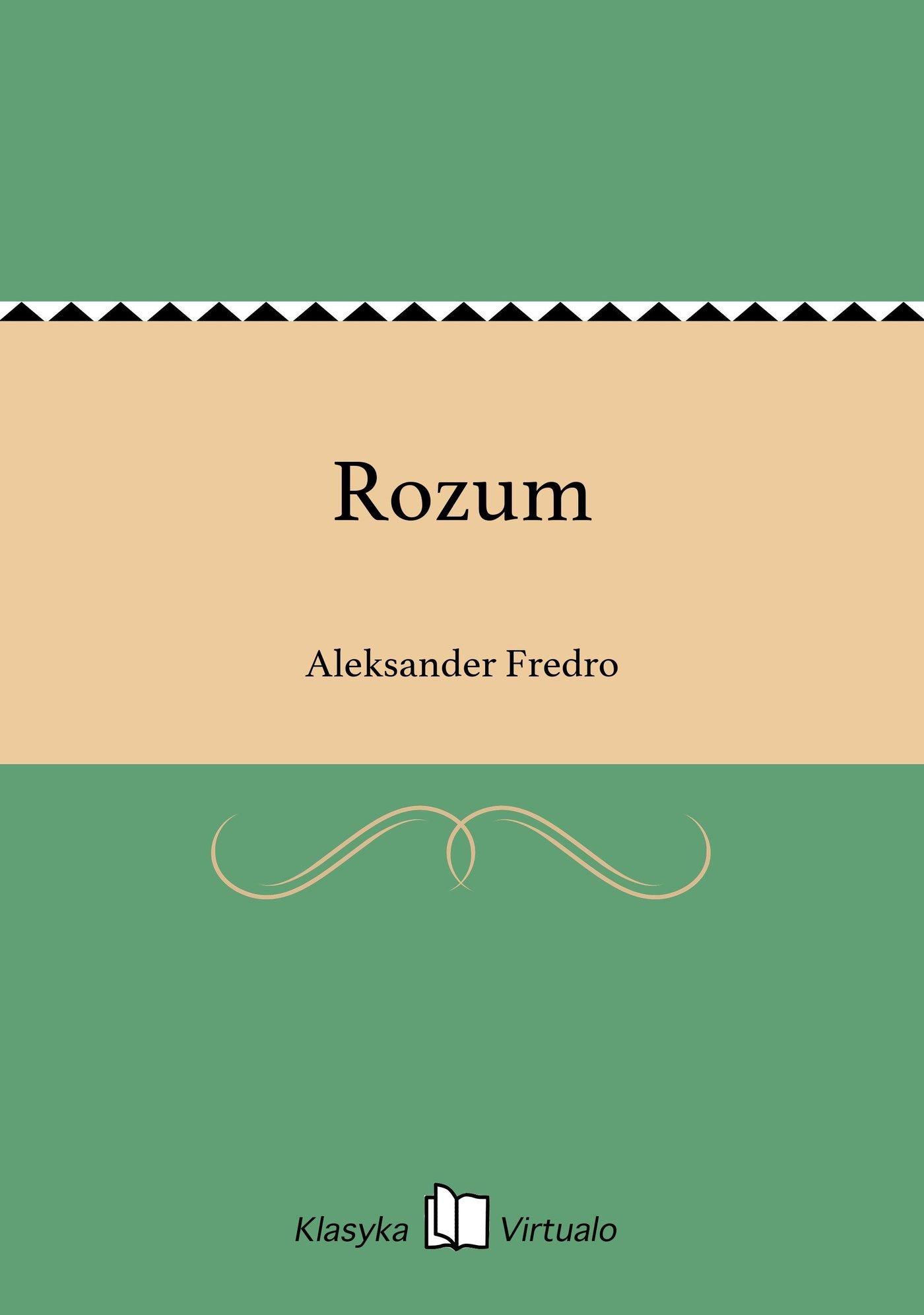 Rozum - Ebook (Książka EPUB) do pobrania w formacie EPUB