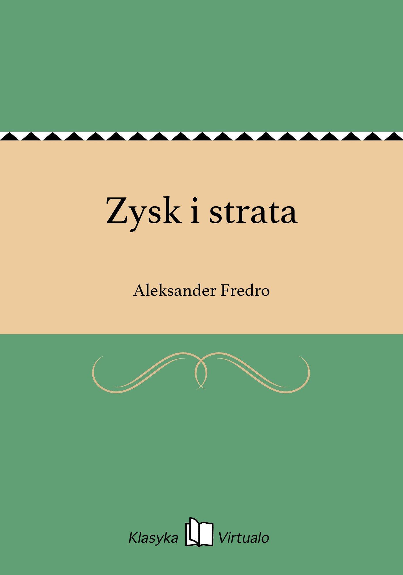 Zysk i strata - Ebook (Książka EPUB) do pobrania w formacie EPUB