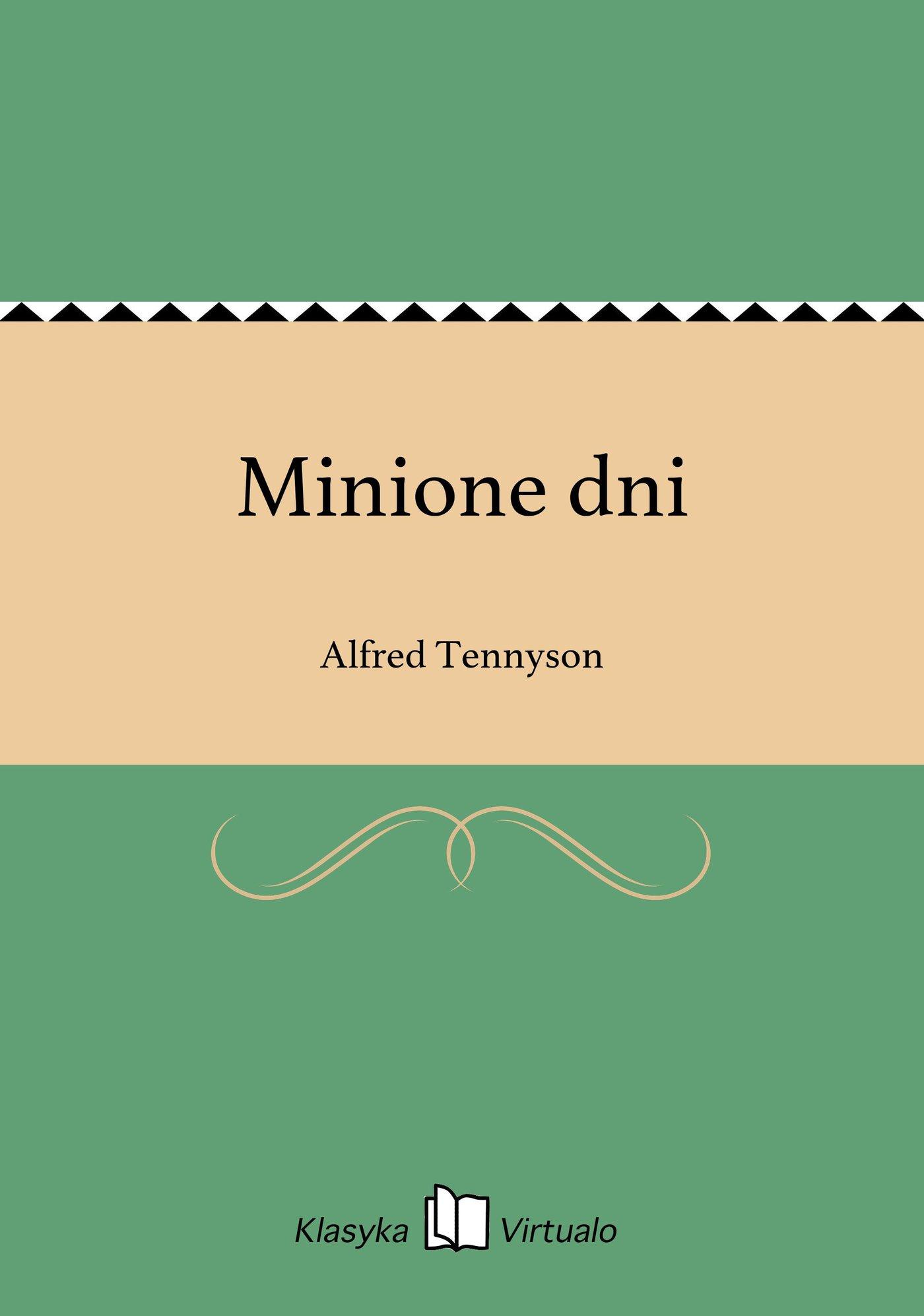 Minione dni - Ebook (Książka EPUB) do pobrania w formacie EPUB