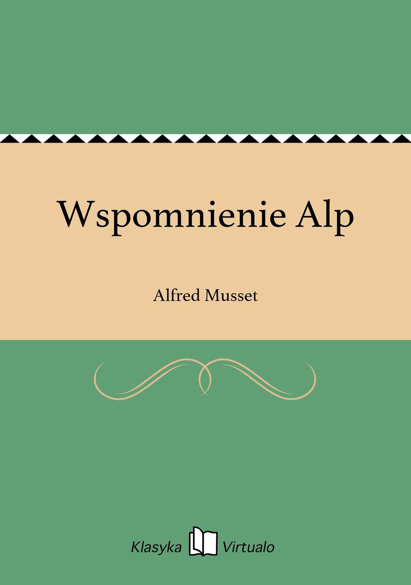 Wspomnienie Alp - Ebook (Książka EPUB) do pobrania w formacie EPUB