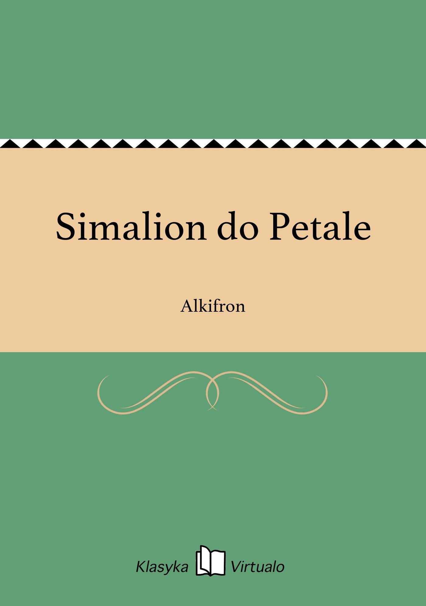 Simalion do Petale - Ebook (Książka EPUB) do pobrania w formacie EPUB