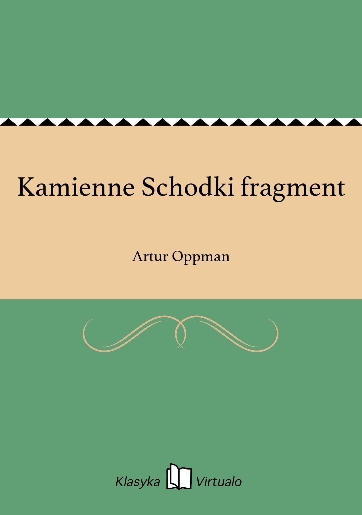 Kamienne Schodki fragment - Ebook (Książka EPUB) do pobrania w formacie EPUB