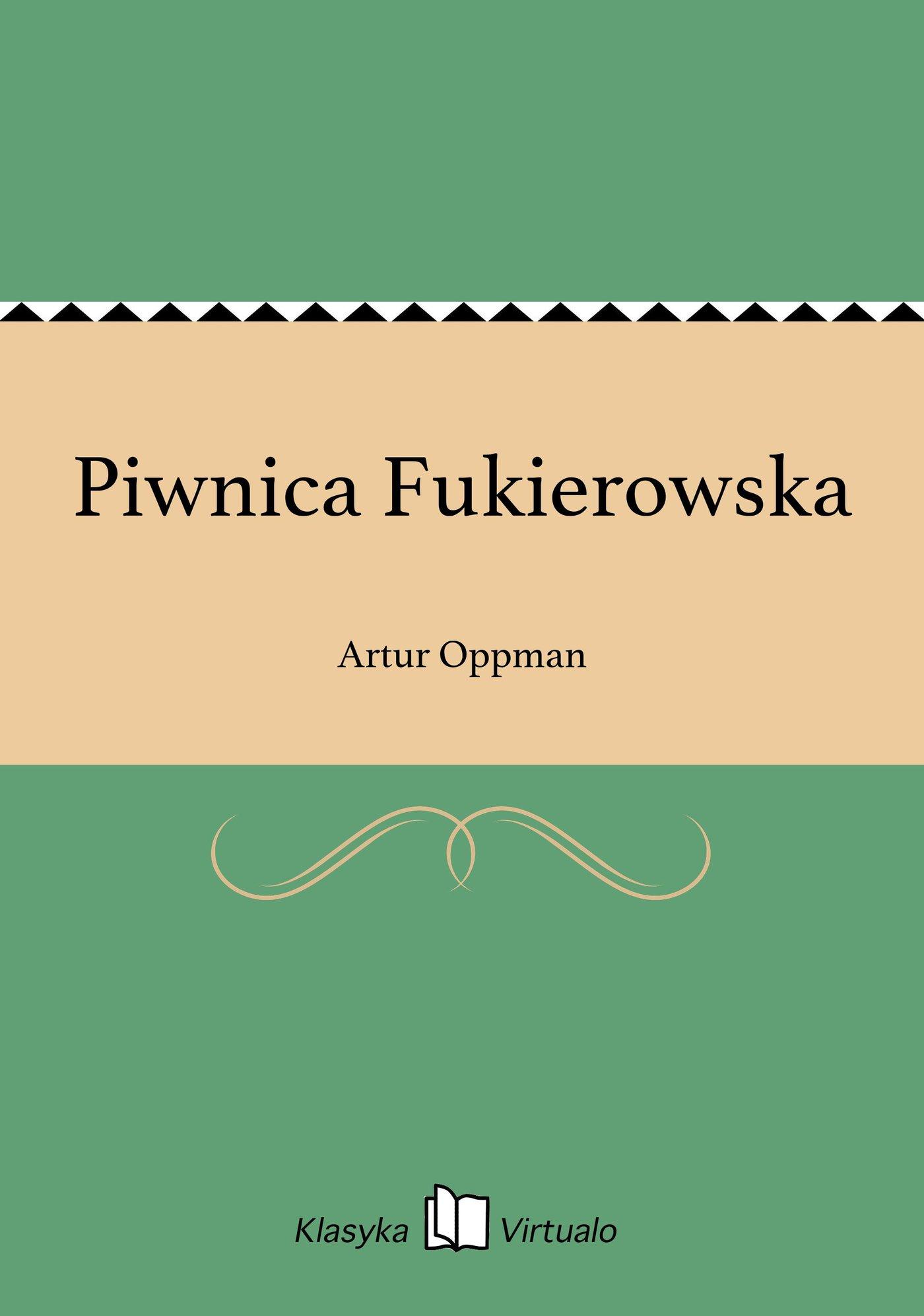 Piwnica Fukierowska - Ebook (Książka EPUB) do pobrania w formacie EPUB