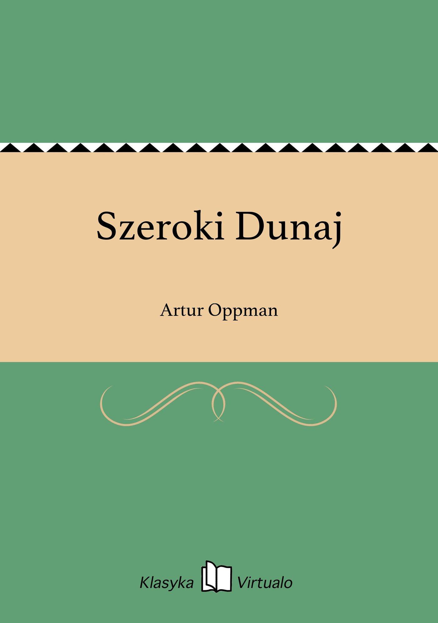Szeroki Dunaj - Ebook (Książka EPUB) do pobrania w formacie EPUB