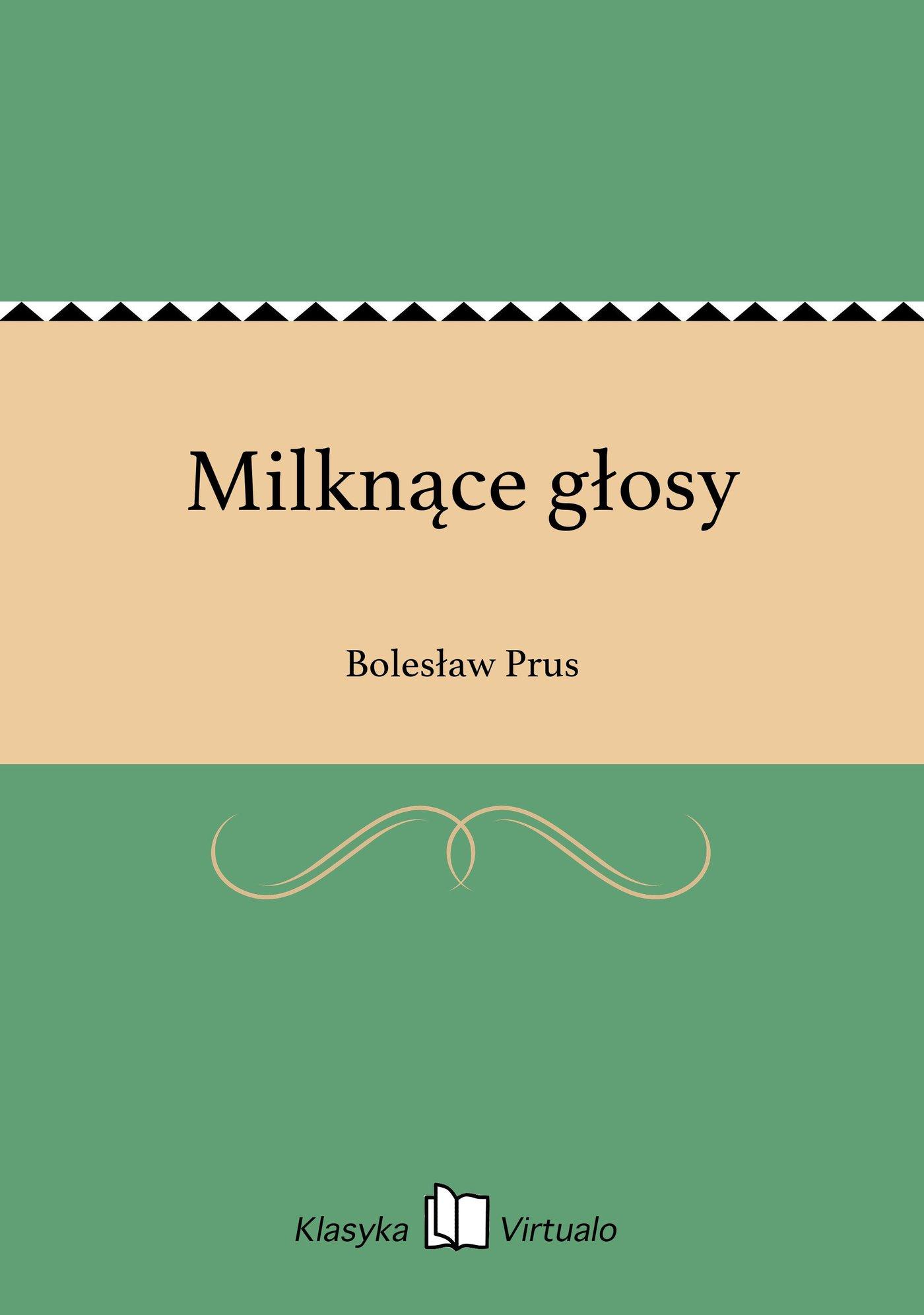 Milknące głosy - Ebook (Książka EPUB) do pobrania w formacie EPUB