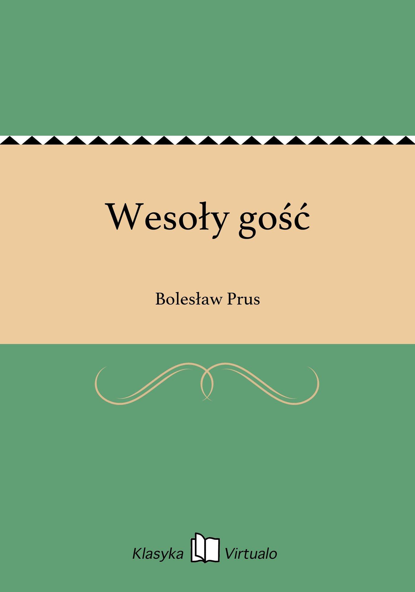 Wesoły gość - Ebook (Książka EPUB) do pobrania w formacie EPUB