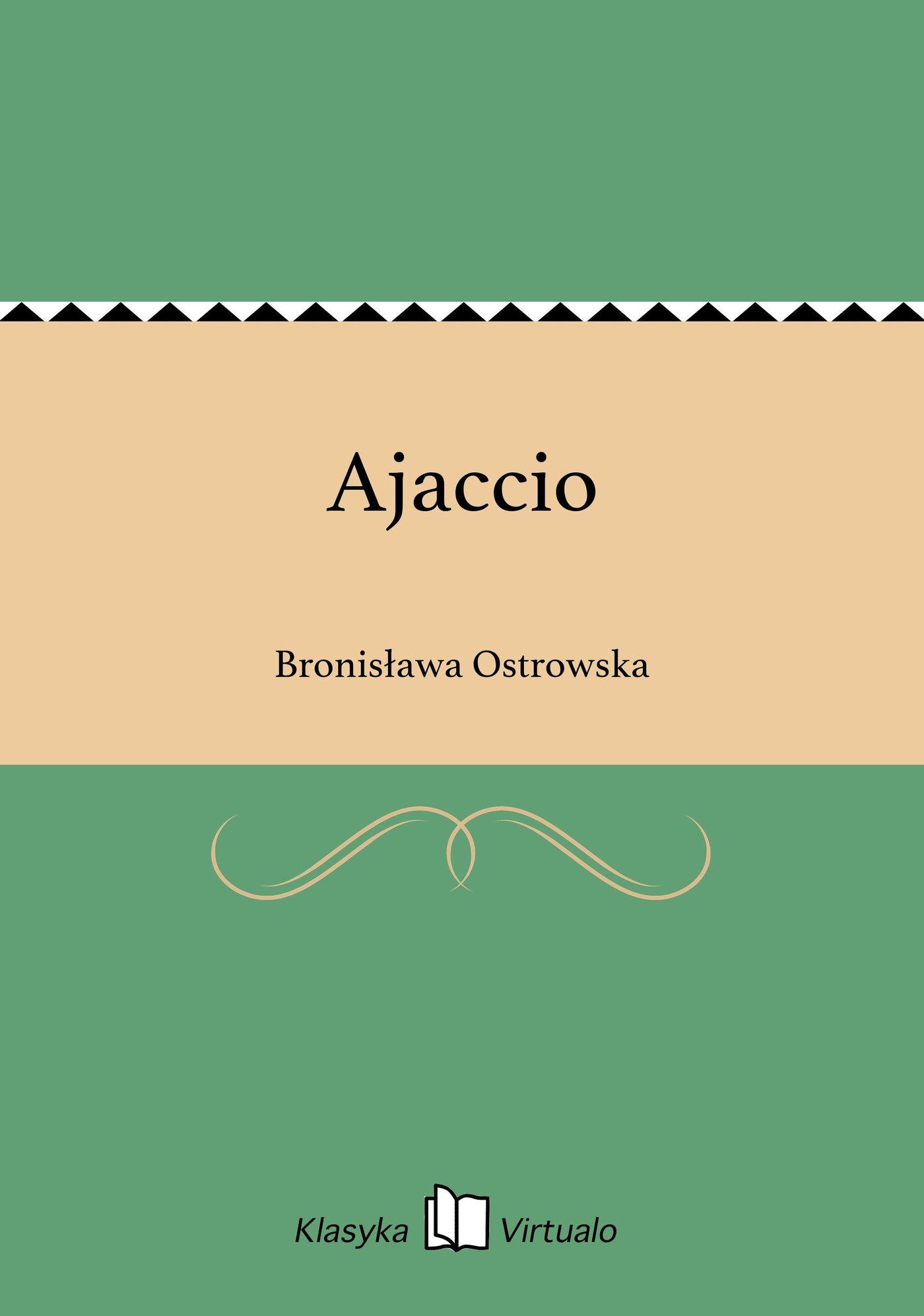 Ajaccio - Ebook (Książka EPUB) do pobrania w formacie EPUB