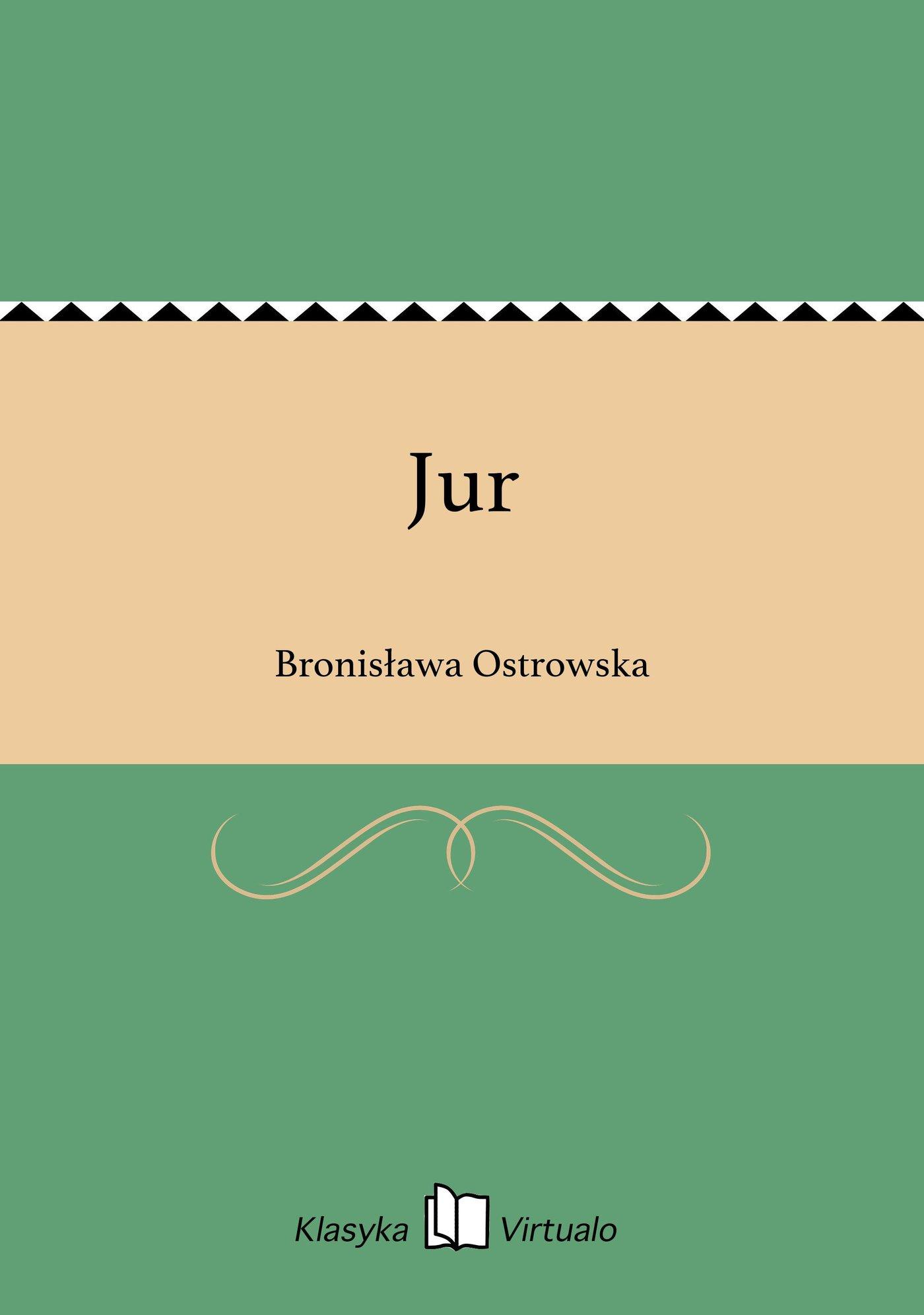 Jur - Ebook (Książka EPUB) do pobrania w formacie EPUB