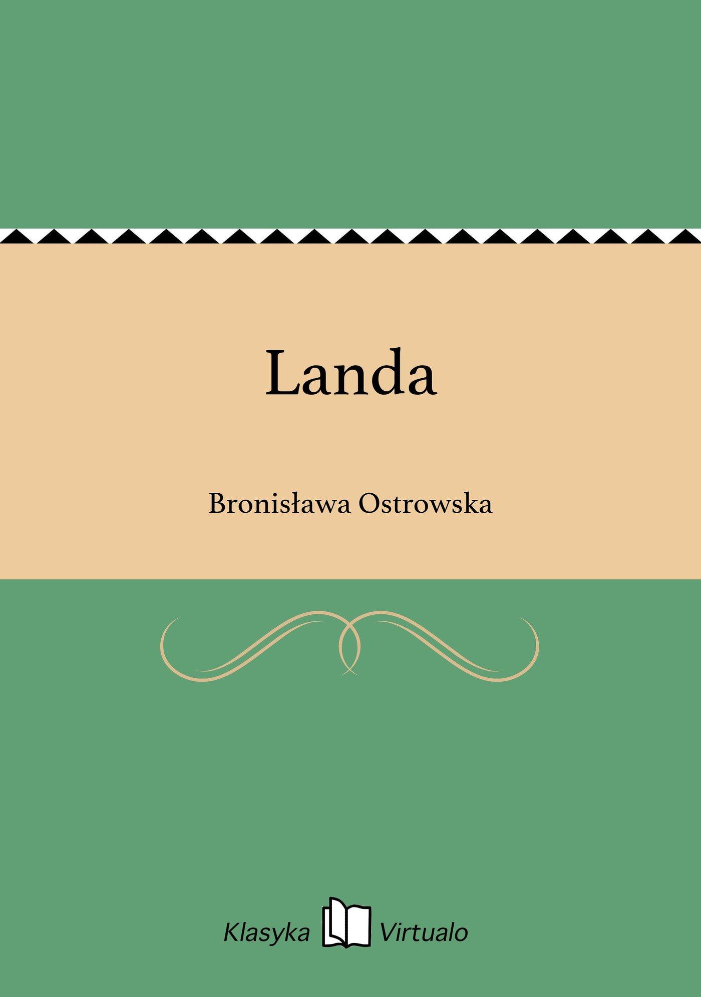 Landa - Ebook (Książka EPUB) do pobrania w formacie EPUB