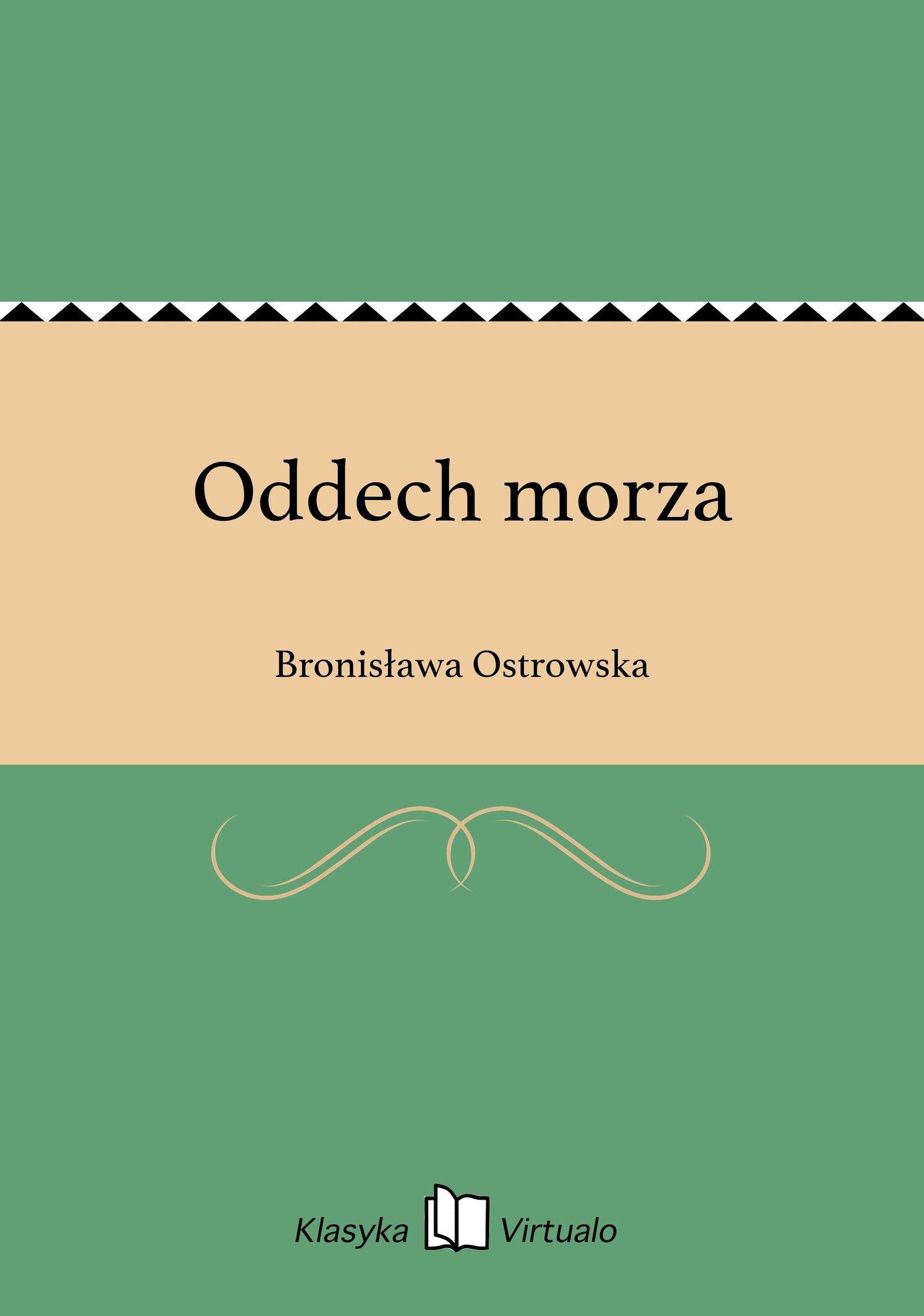 Oddech morza - Ebook (Książka EPUB) do pobrania w formacie EPUB