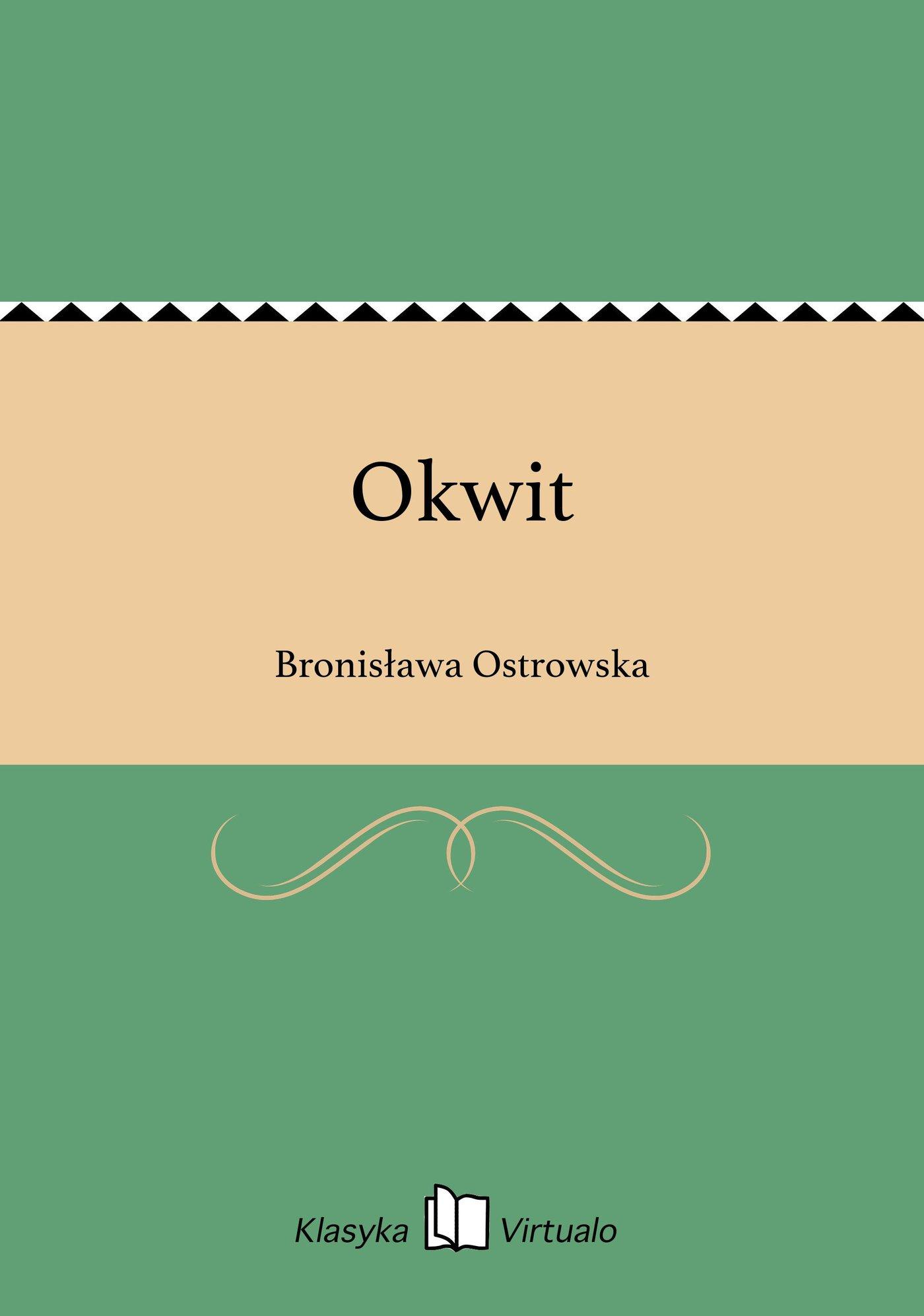 Okwit - Ebook (Książka EPUB) do pobrania w formacie EPUB