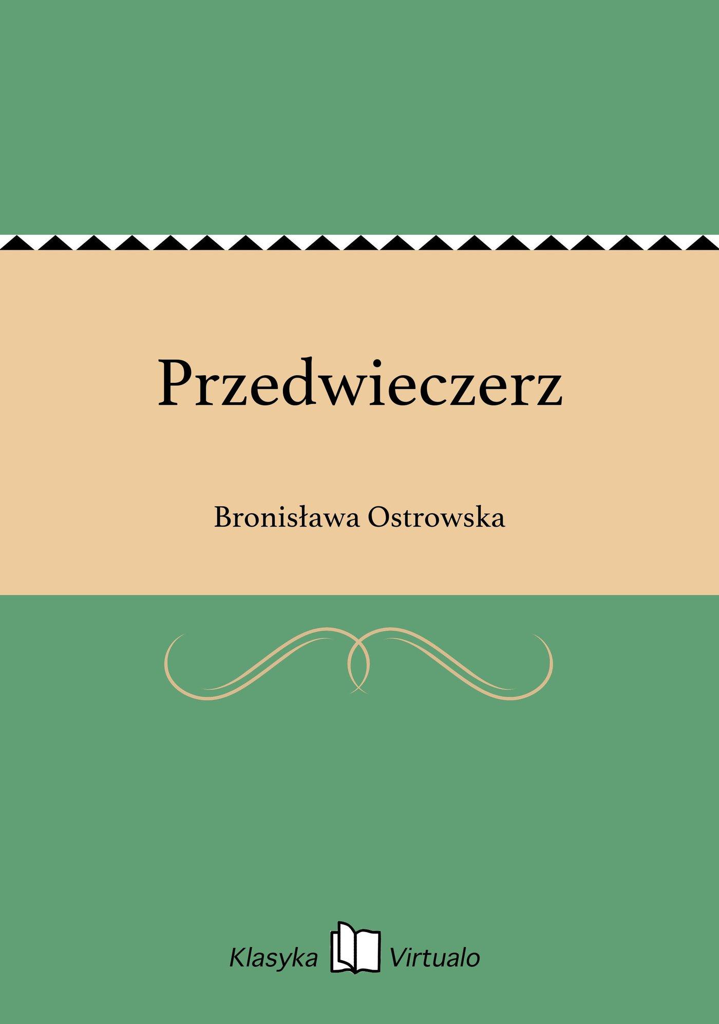 Przedwieczerz - Ebook (Książka EPUB) do pobrania w formacie EPUB