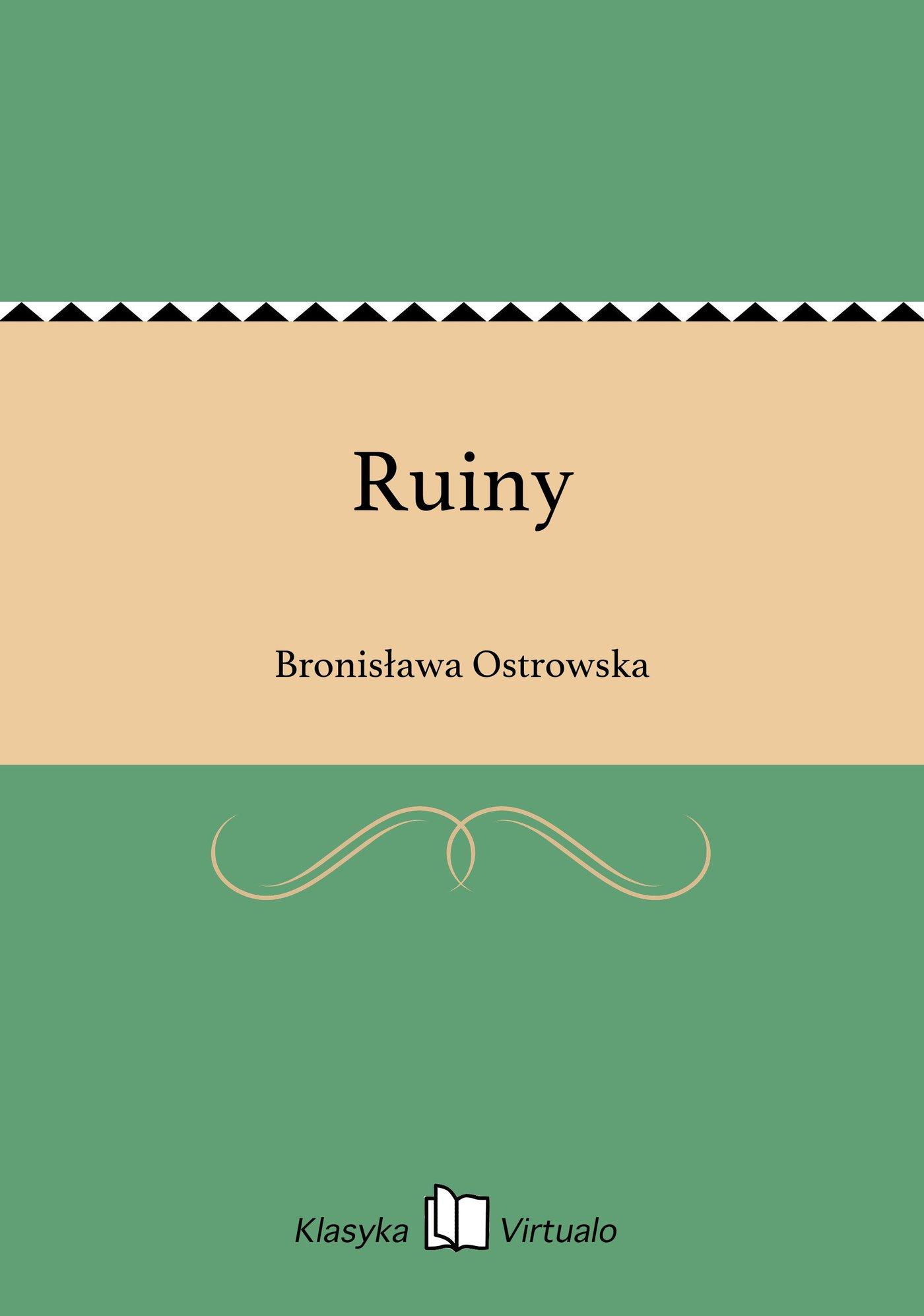 Ruiny - Ebook (Książka EPUB) do pobrania w formacie EPUB