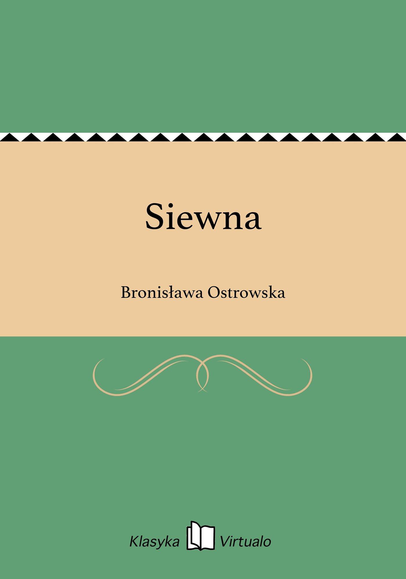 Siewna - Ebook (Książka EPUB) do pobrania w formacie EPUB