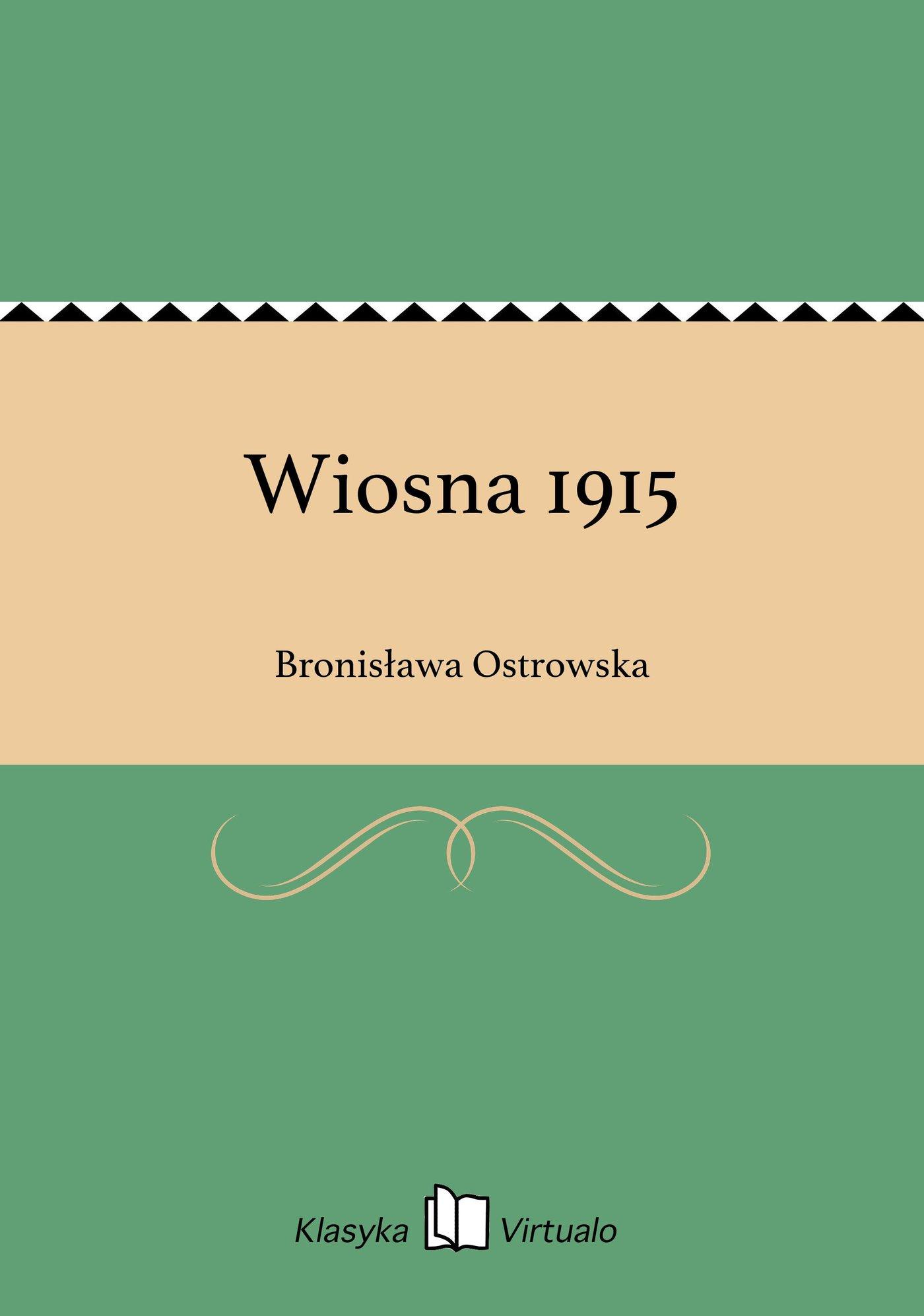 Wiosna 1915 - Ebook (Książka EPUB) do pobrania w formacie EPUB