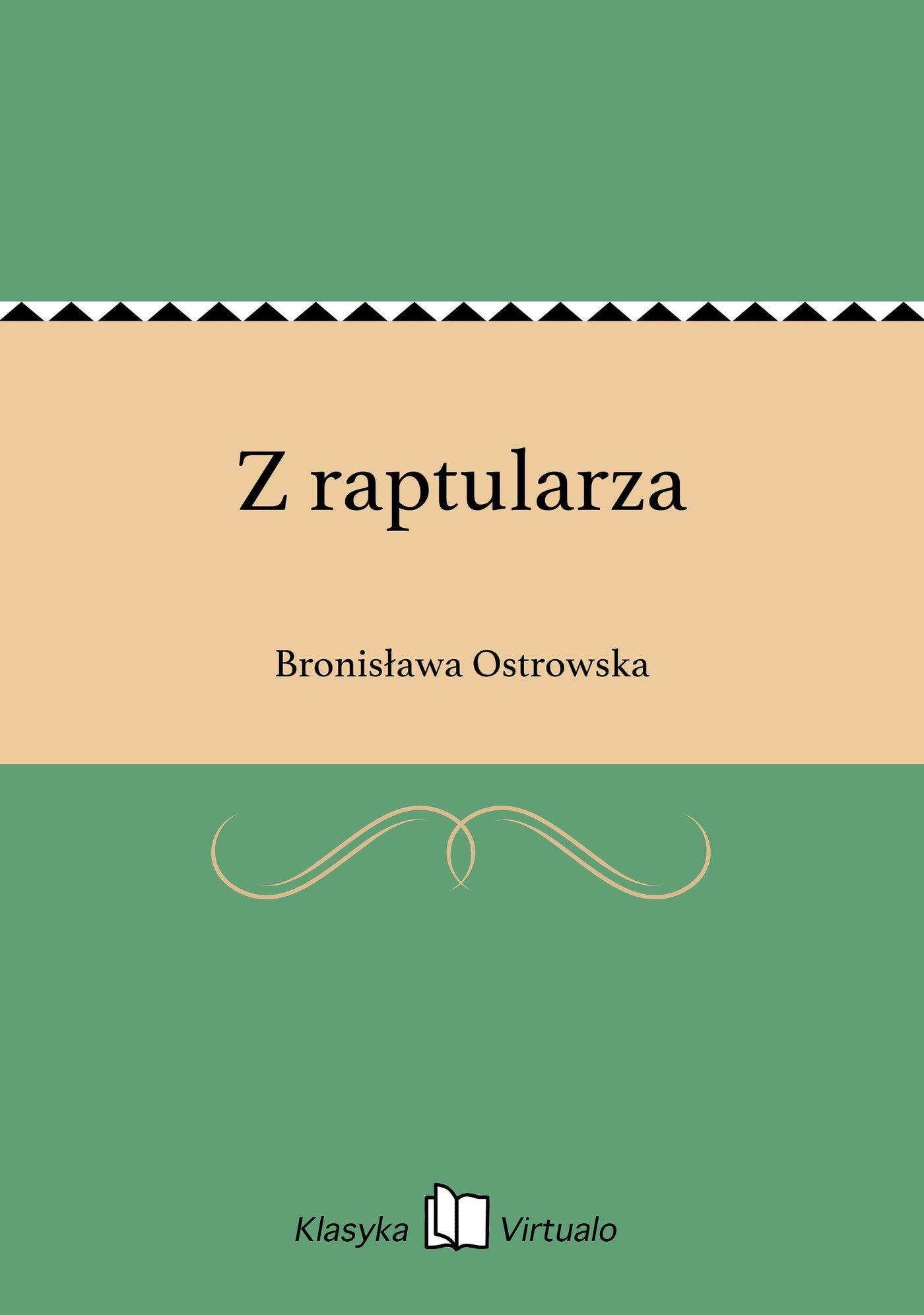 Z raptularza - Ebook (Książka EPUB) do pobrania w formacie EPUB