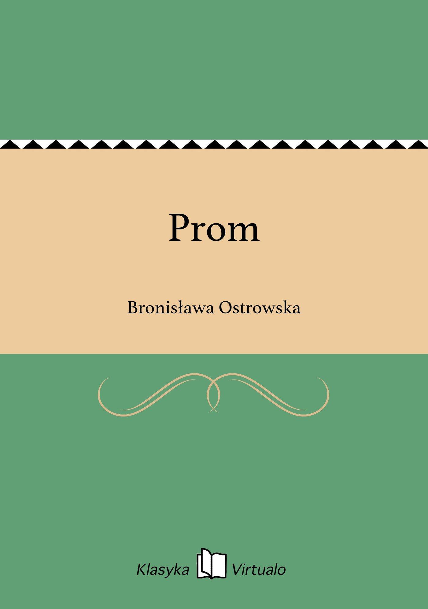 Prom - Ebook (Książka EPUB) do pobrania w formacie EPUB