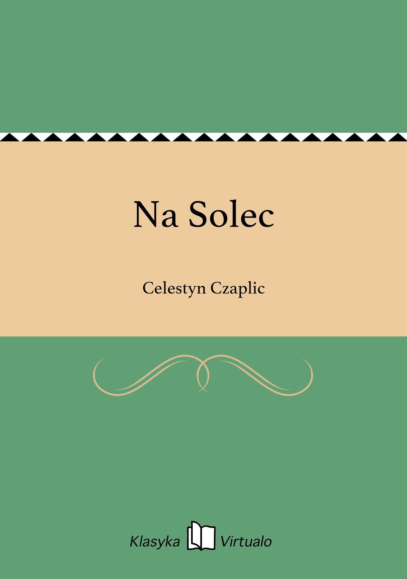 Na Solec - Ebook (Książka EPUB) do pobrania w formacie EPUB