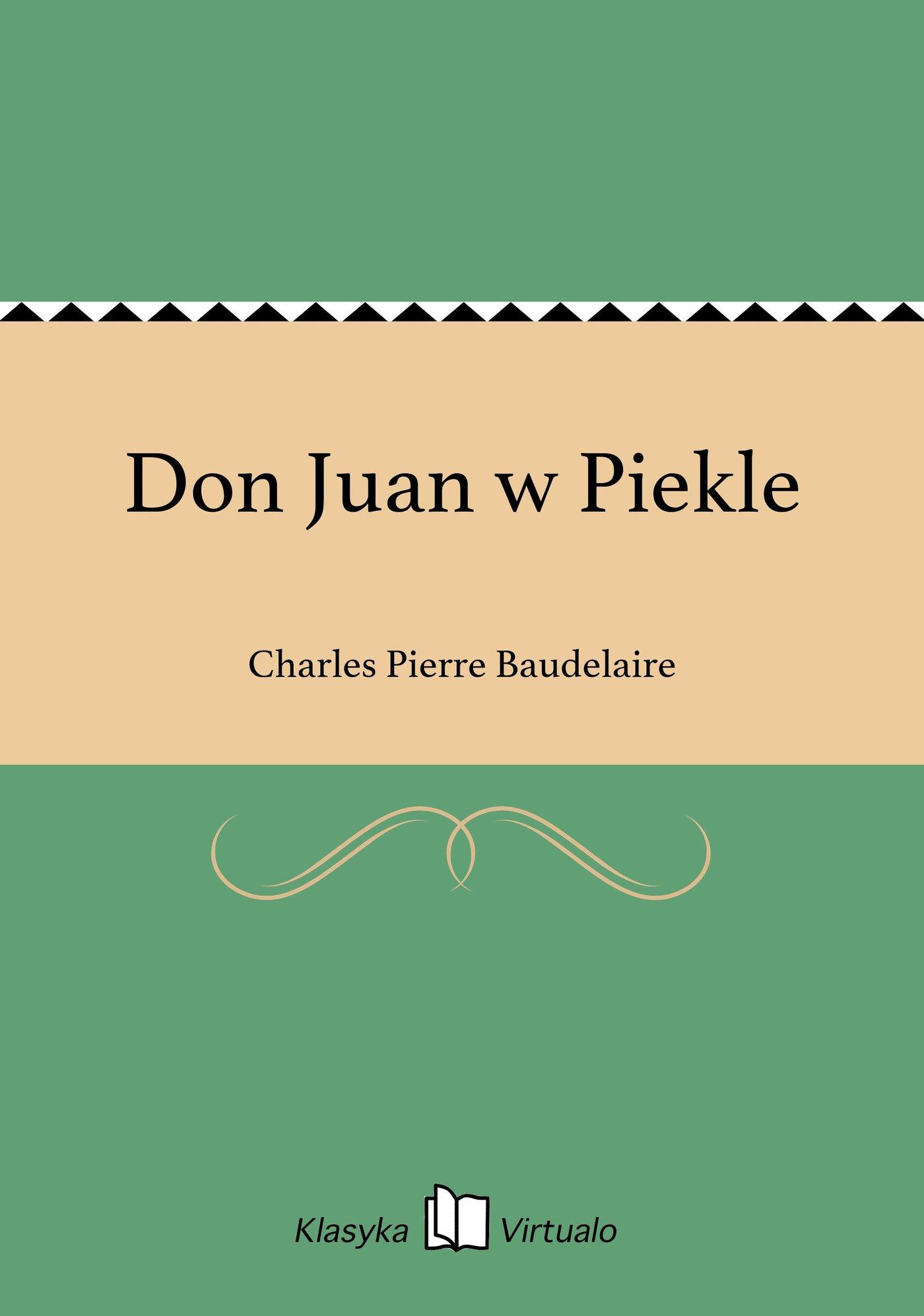 Don Juan w Piekle - Ebook (Książka EPUB) do pobrania w formacie EPUB