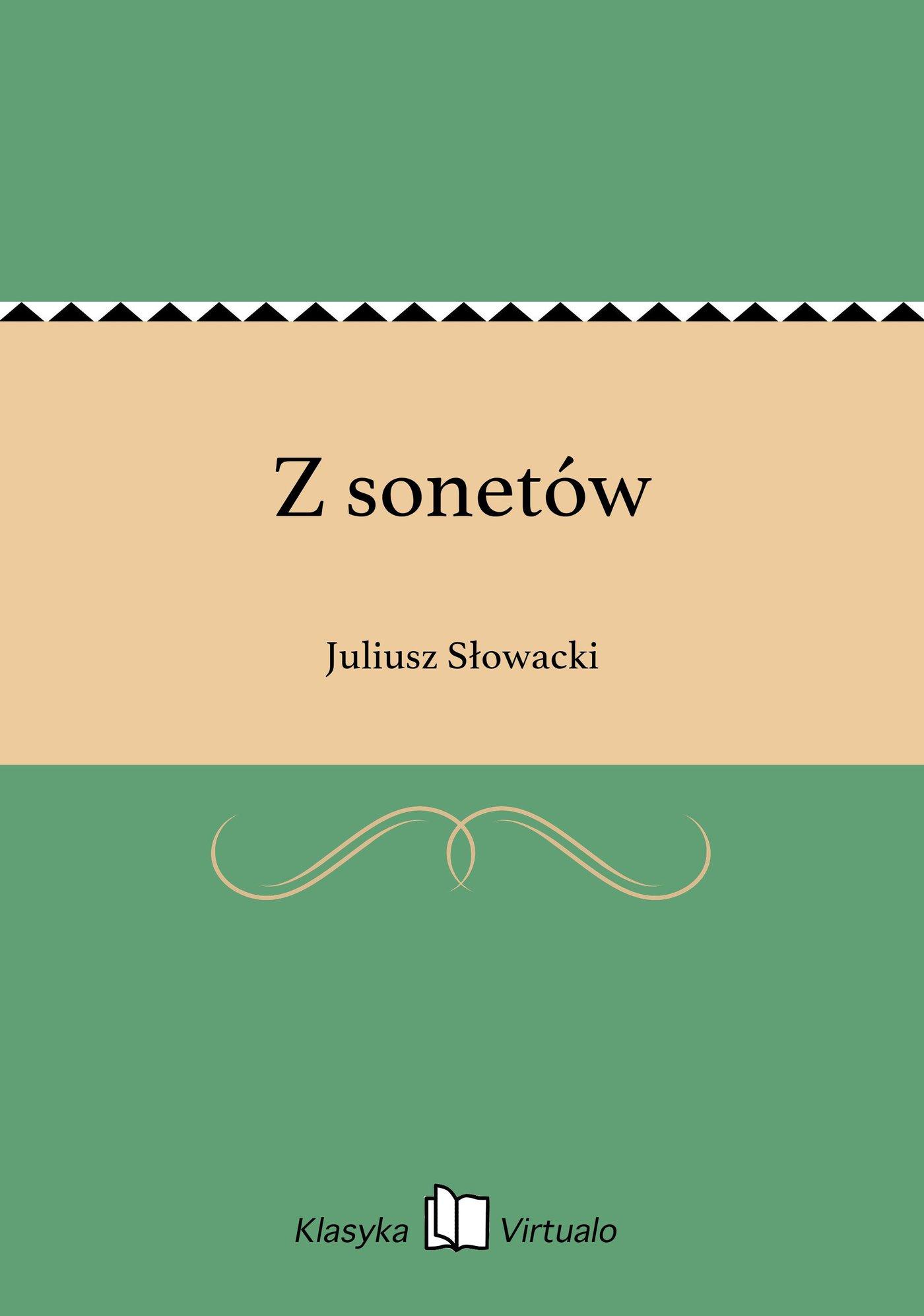 Z sonetów - Ebook (Książka EPUB) do pobrania w formacie EPUB
