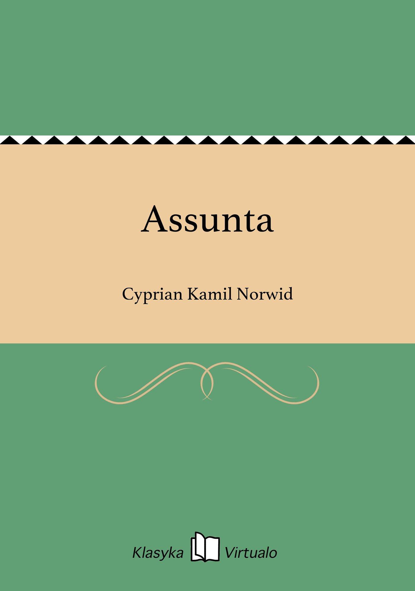 Assunta - Ebook (Książka EPUB) do pobrania w formacie EPUB