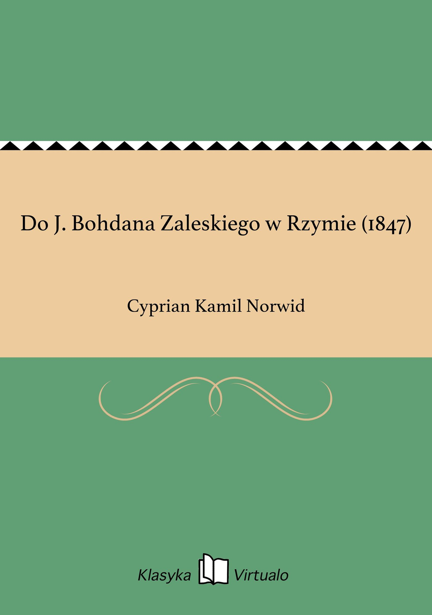 Do J. Bohdana Zaleskiego w Rzymie (1847) - Ebook (Książka EPUB) do pobrania w formacie EPUB