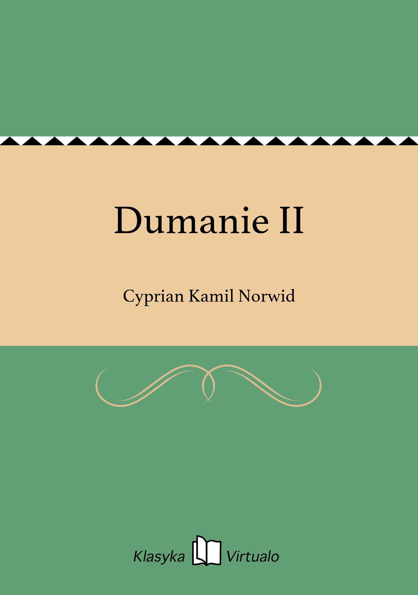Dumanie II - Ebook (Książka EPUB) do pobrania w formacie EPUB