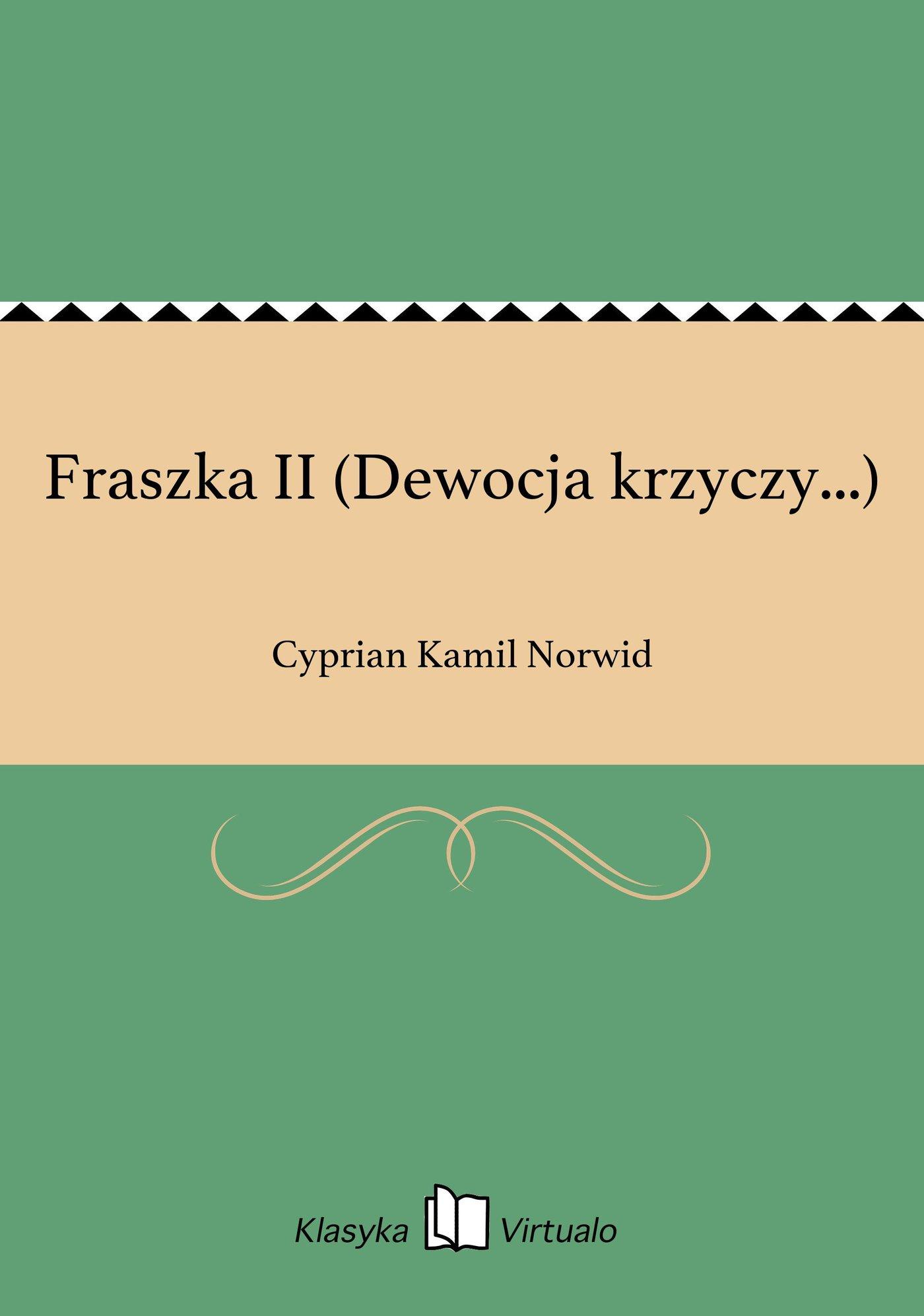 Fraszka II (Dewocja krzyczy...) - Ebook (Książka EPUB) do pobrania w formacie EPUB